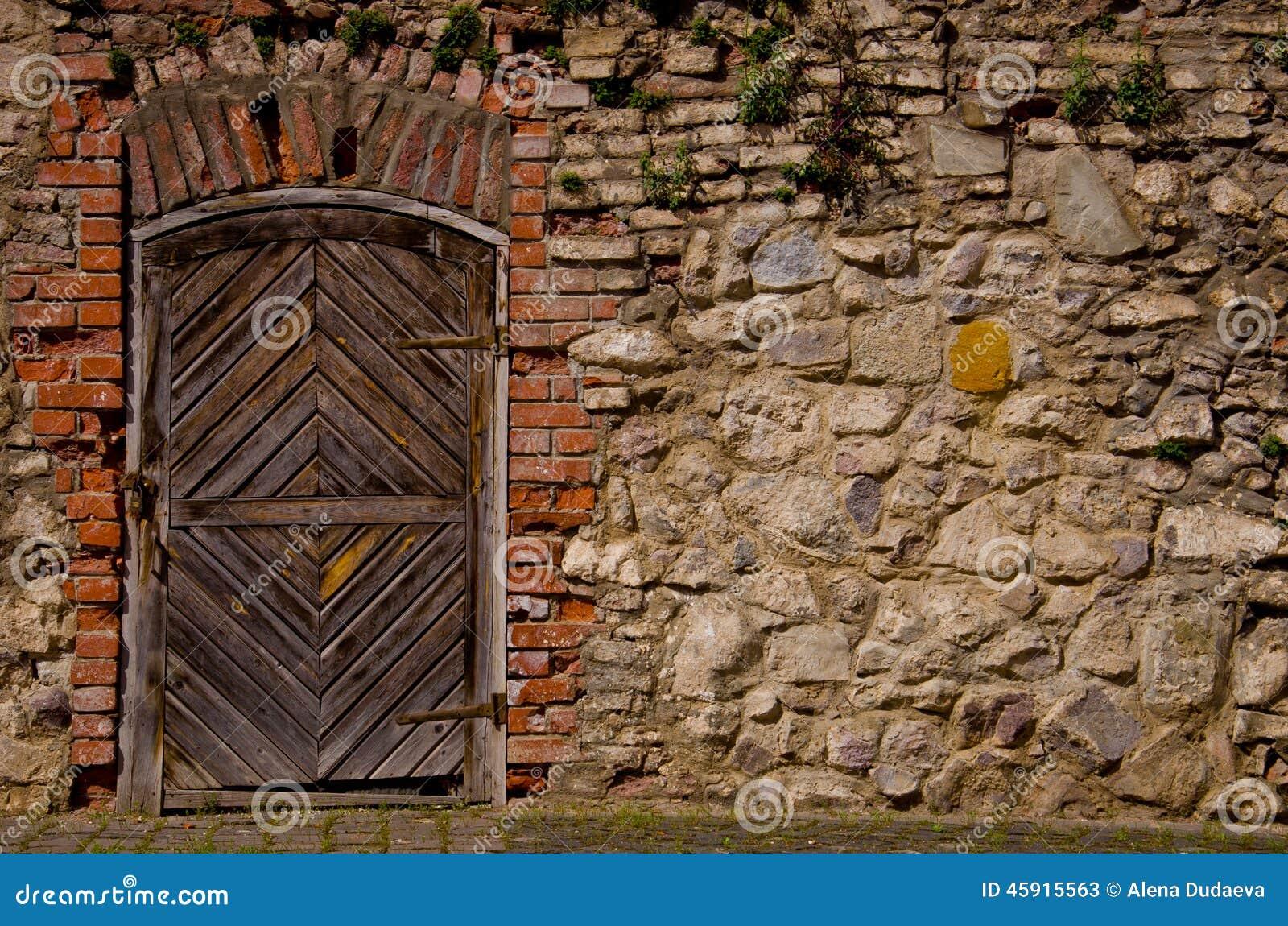 Vieille porte de forteresse
