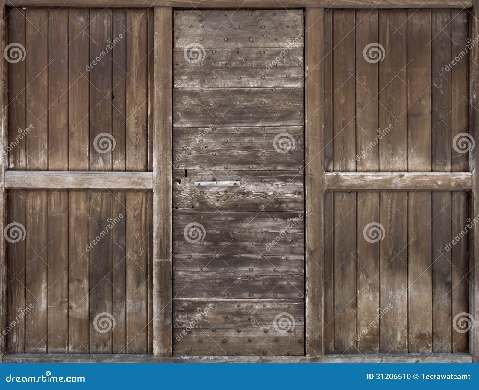 vieille porte en bois photo stock image du bois motif. Black Bedroom Furniture Sets. Home Design Ideas