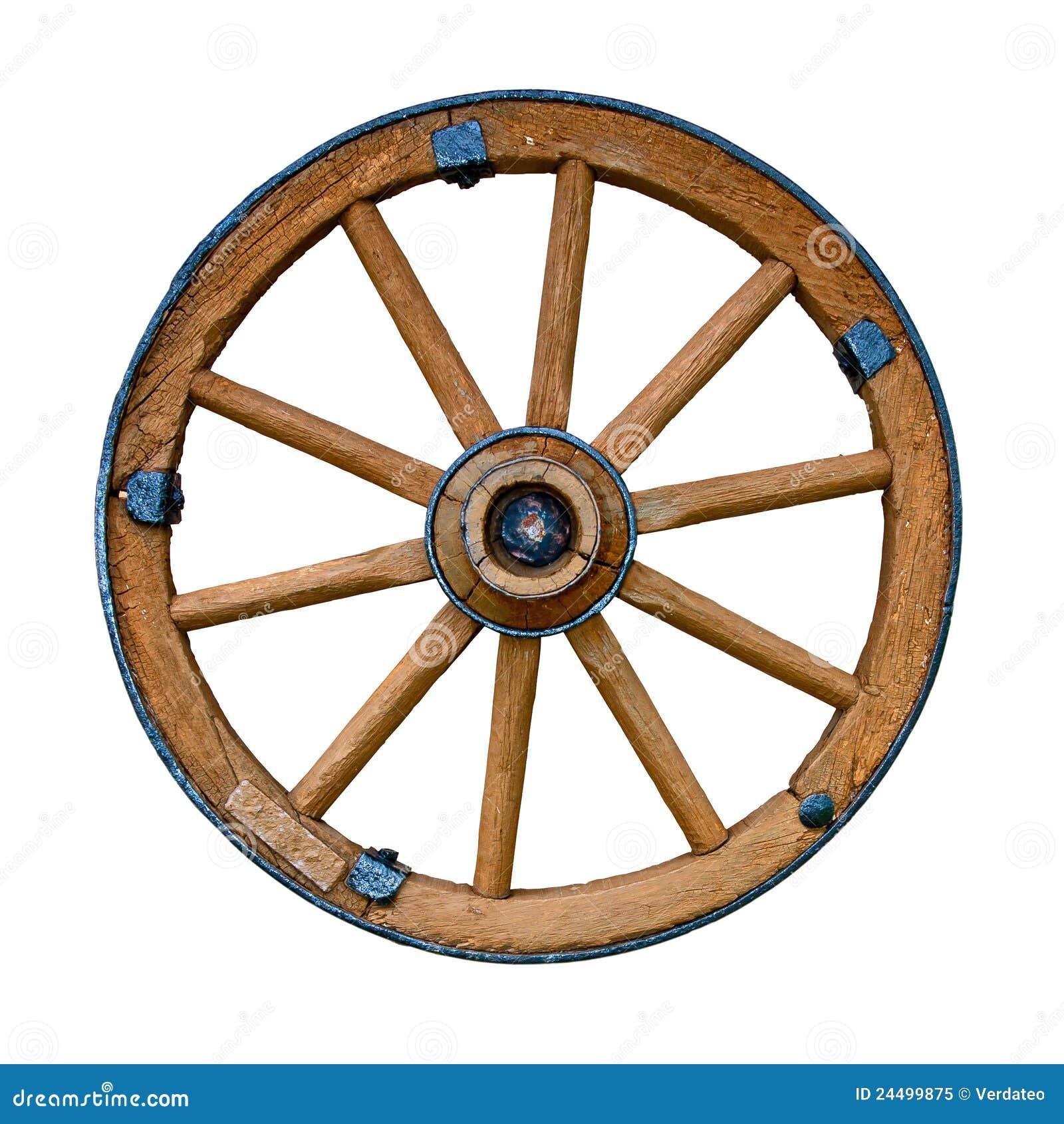 vieille roue en bois image stock image du l ment. Black Bedroom Furniture Sets. Home Design Ideas