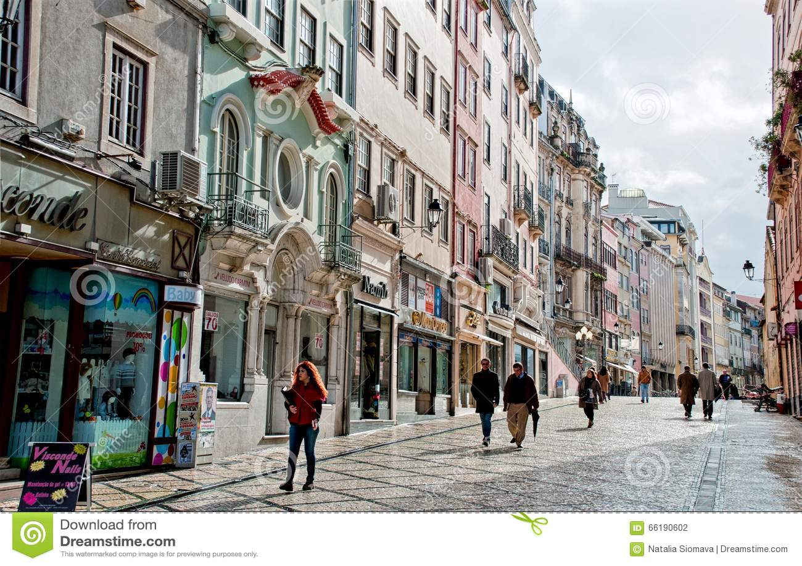 Vieille Ville Coimbra Portugal