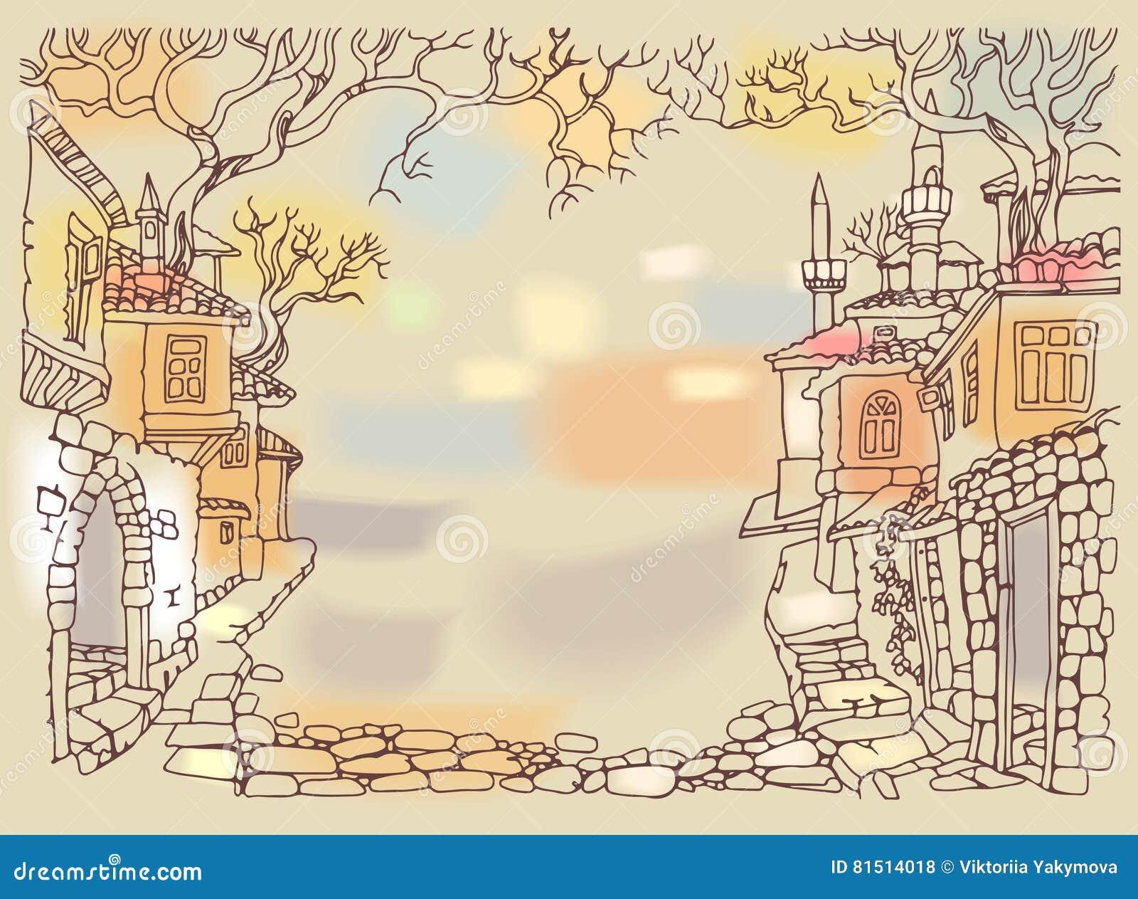 Dessin Ville Orientale - Amazing Home Ideas - freetattoosdesign.us