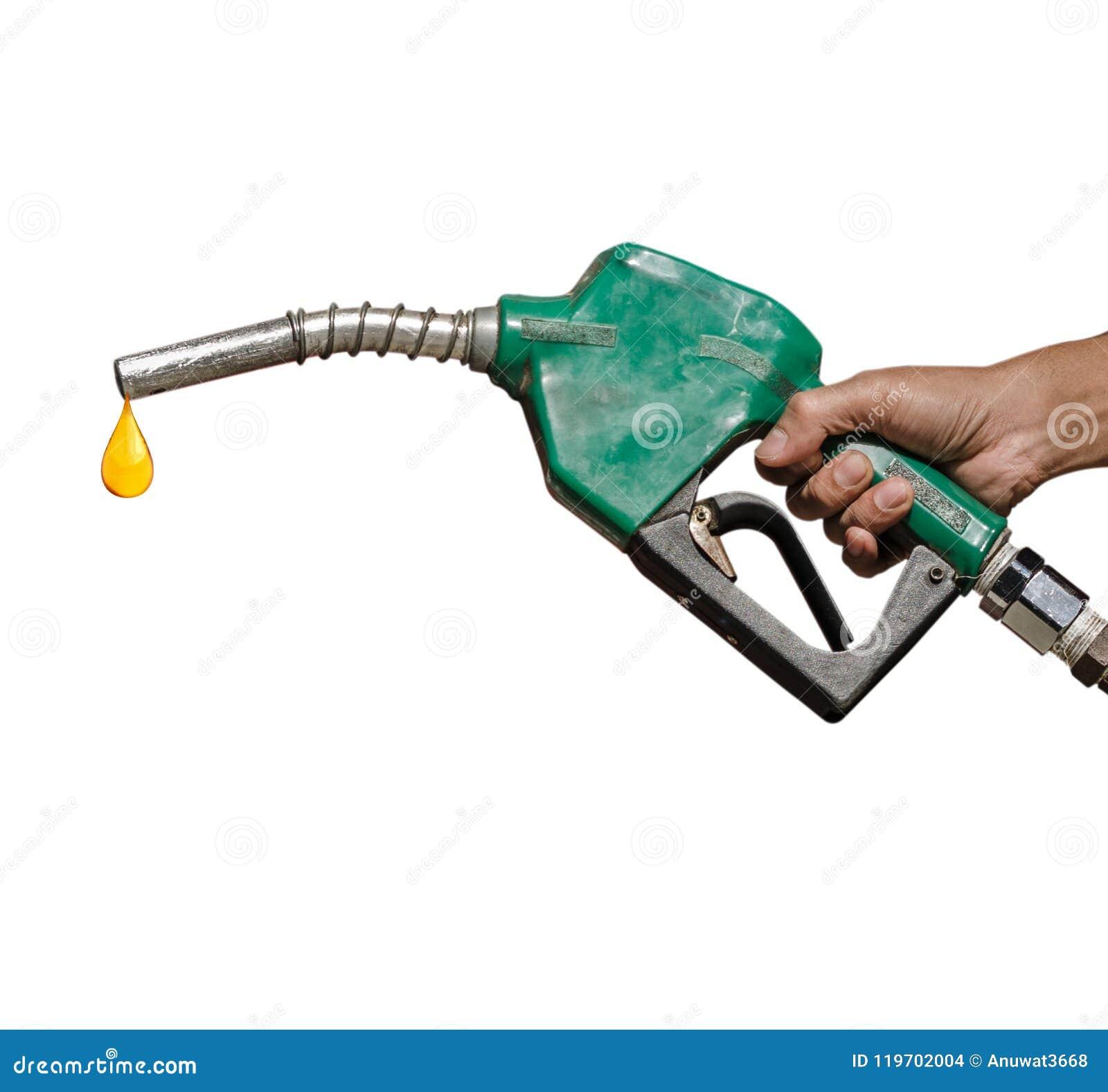 Vieille tête pour la pompe à essence avec la baisse d huile