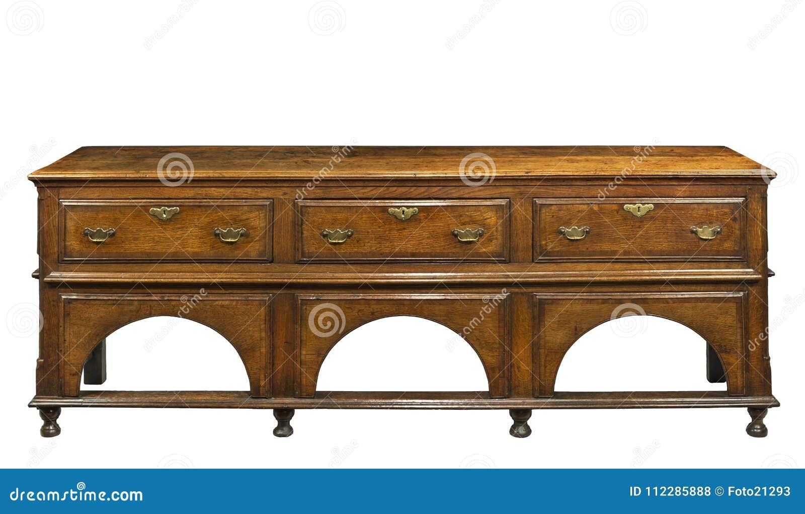 Dresser Une Table À L Anglaise vieille table anglaise de portion de buffet de raboteuse de