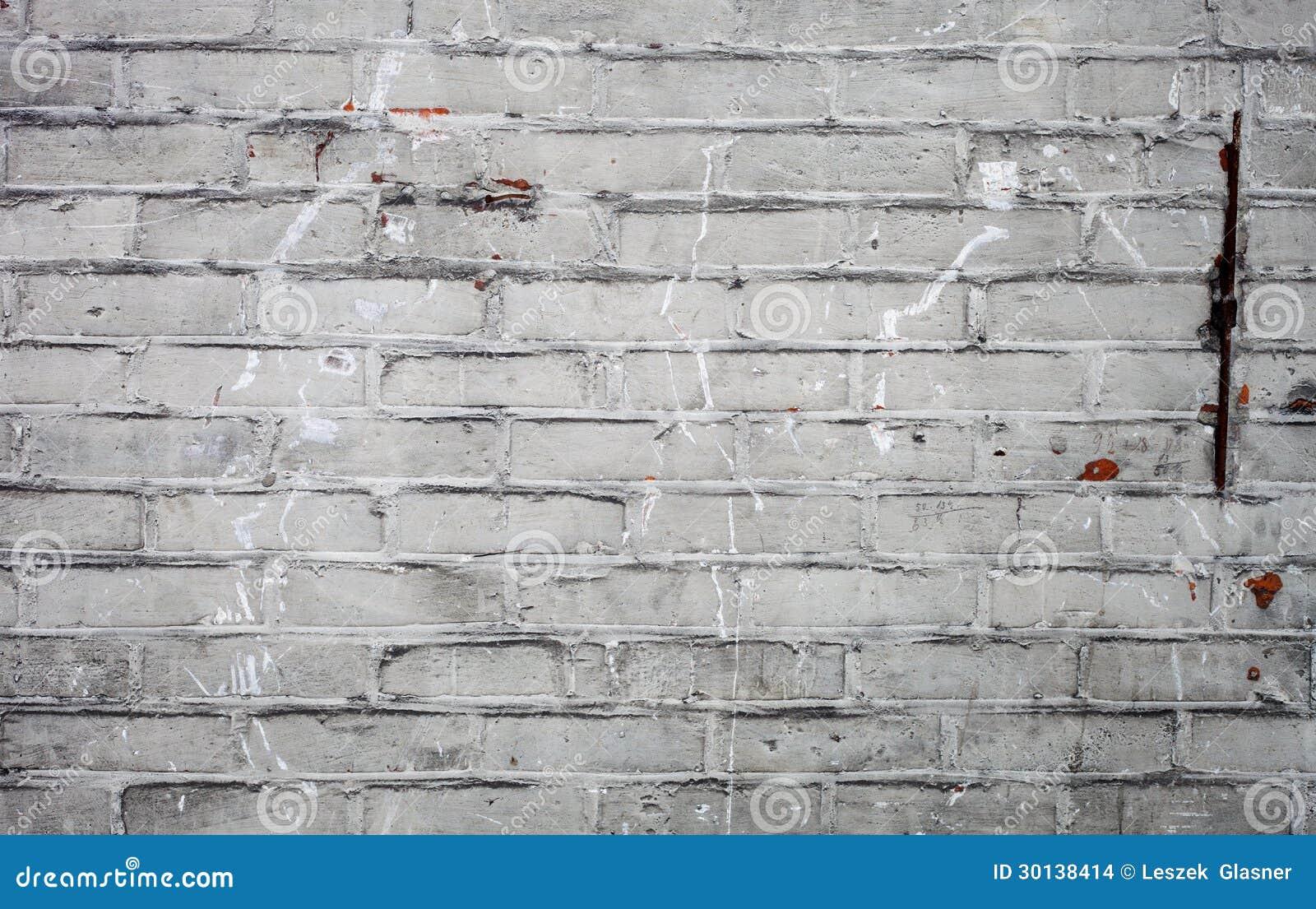 vieille texture blanche sale de mur de briques photo stock image du bloc lumineux 30138414. Black Bedroom Furniture Sets. Home Design Ideas