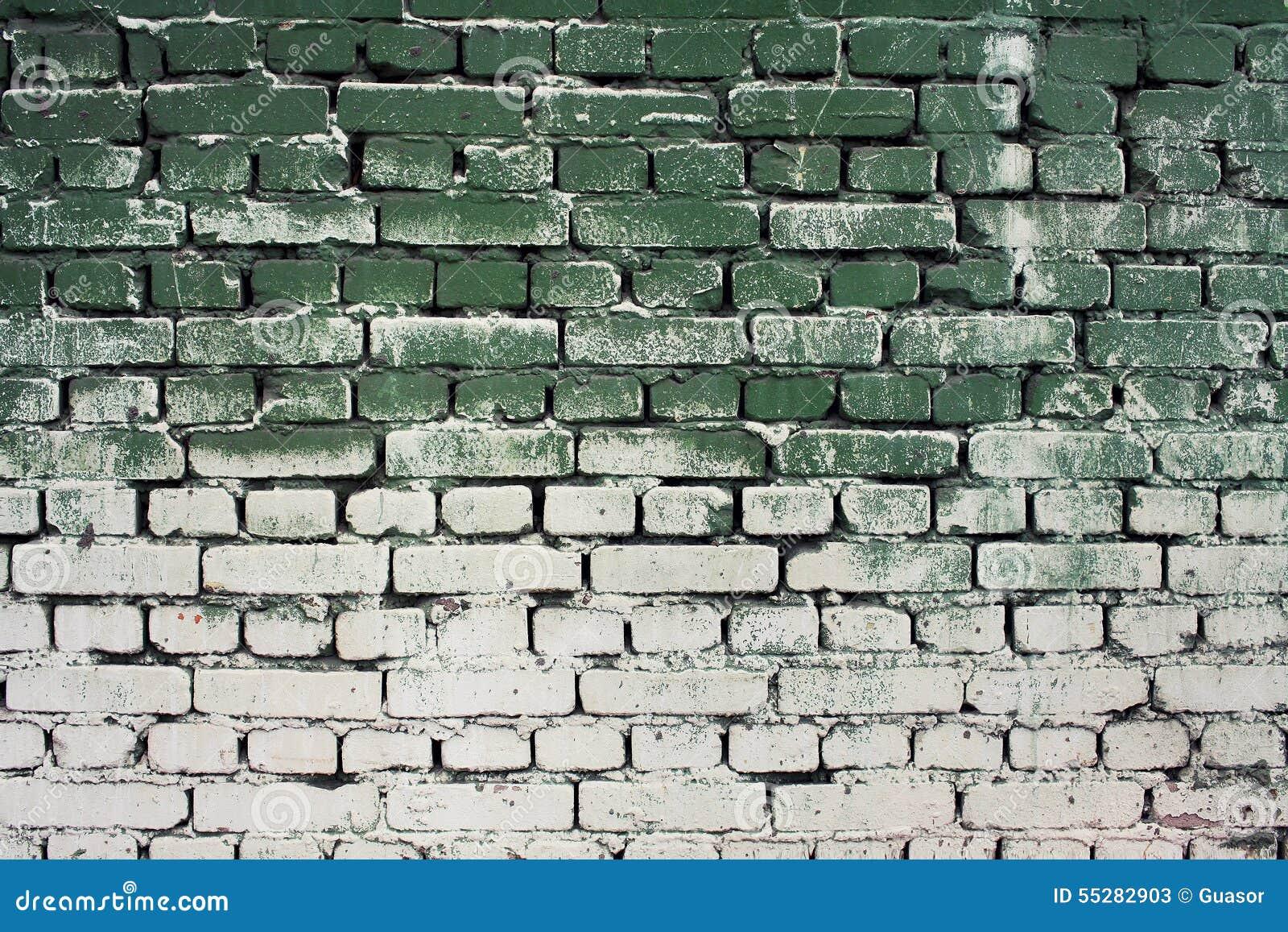 Vieille Texture De Mur De Brique Avec Des Couleurs De Blanc