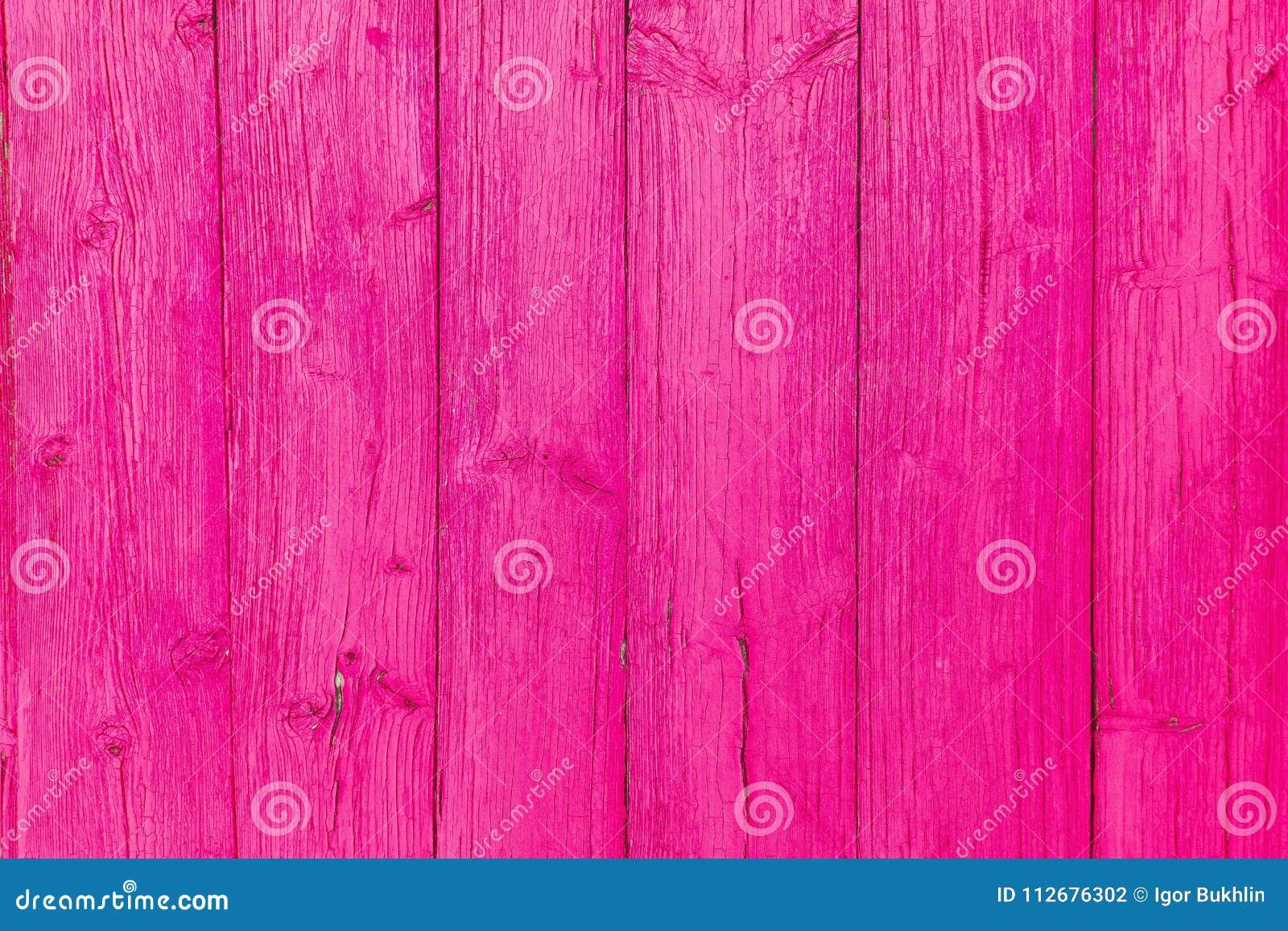 vieille texture en bois conception de cru peinture rose conception