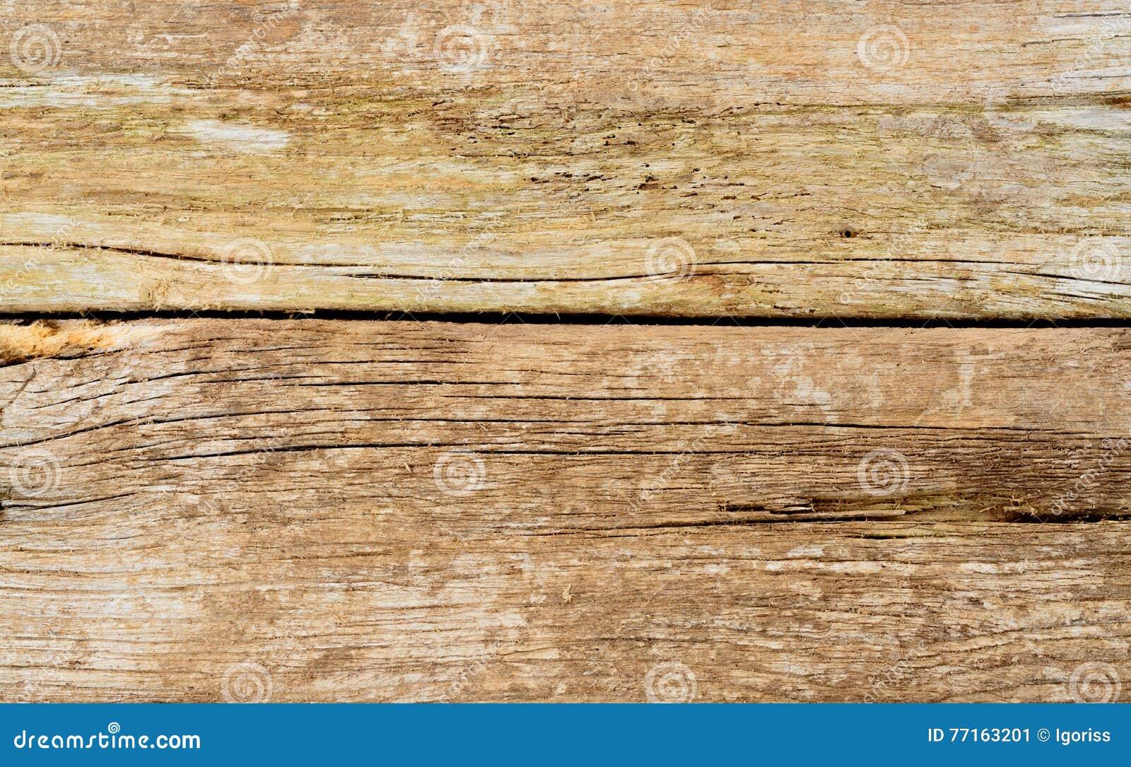 Vieille texture en bois de plan rapproché Rustique Cracky