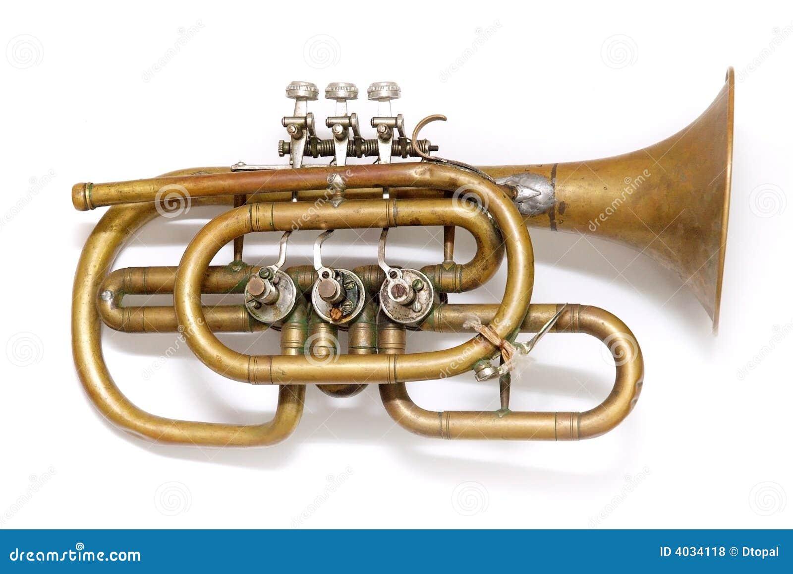 Vieille trompette de cru
