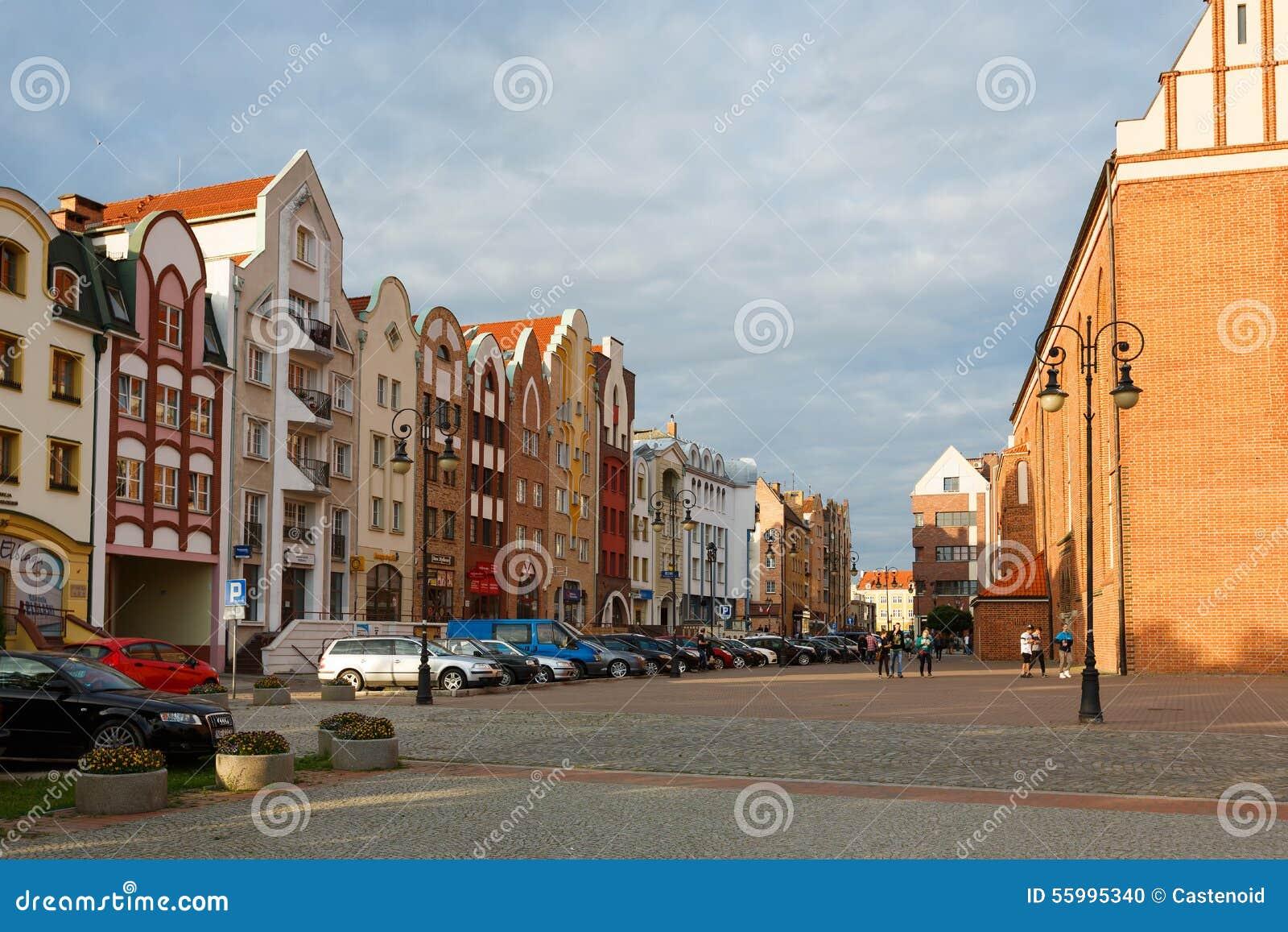 Vieille ville dans Elblag