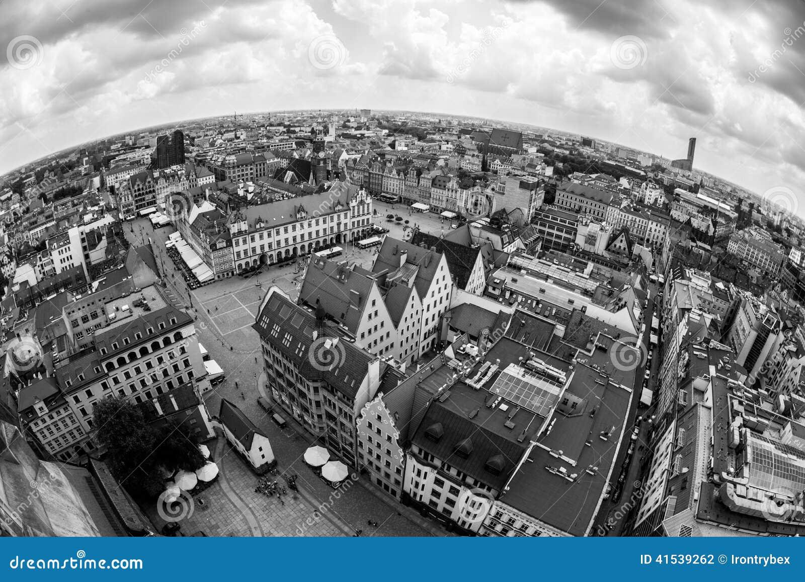 Vieille ville de Wroclaw