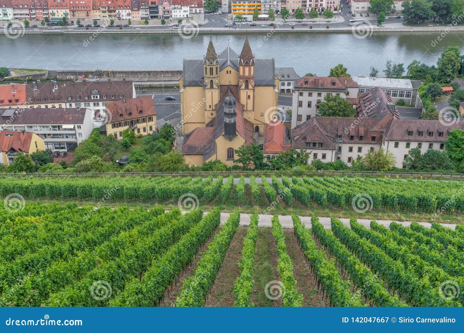 Vieille ville de Wurtzbourg, un site de patrimoine mondial de l UNESCO
