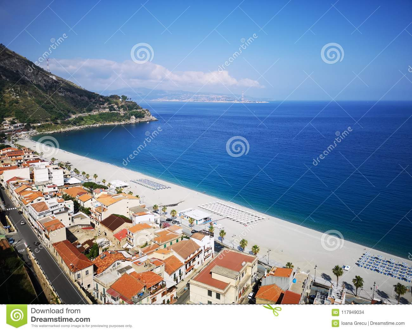 Vieille ville historique de Scilla, Italie