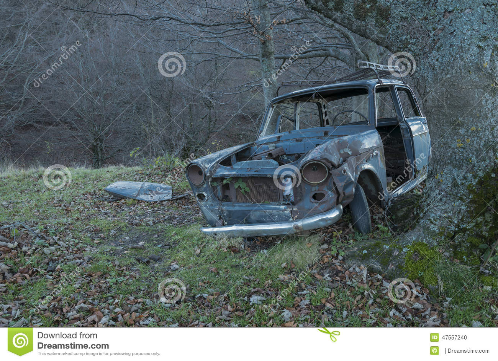 vieille voiture abandonn e tableau de bord et volant photo stock image 47557240. Black Bedroom Furniture Sets. Home Design Ideas