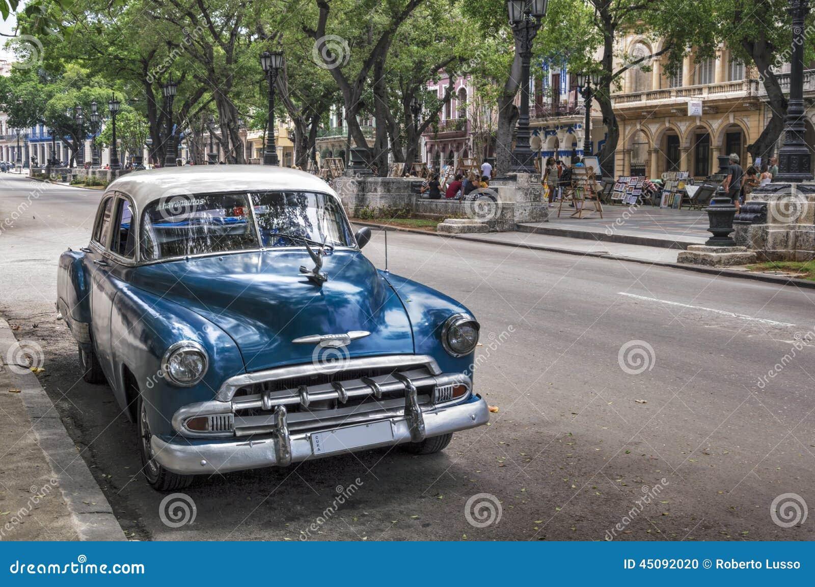 vieille voiture am ricaine vieille la havane cuba image ditorial image du chrome cubain. Black Bedroom Furniture Sets. Home Design Ideas