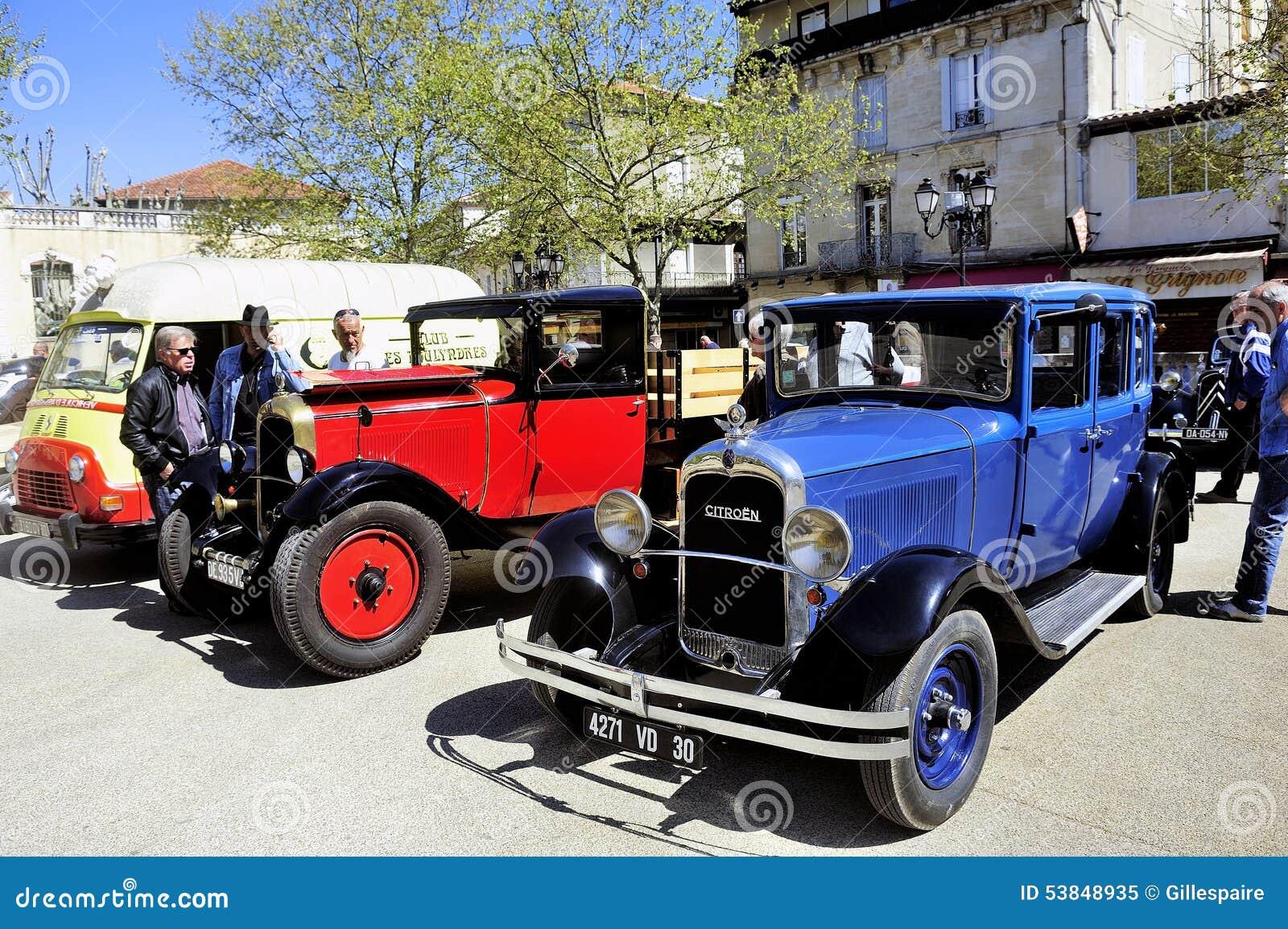 vieille voiture de citroen des ann es 1920 image ditorial image du conception lecteur 53848935. Black Bedroom Furniture Sets. Home Design Ideas