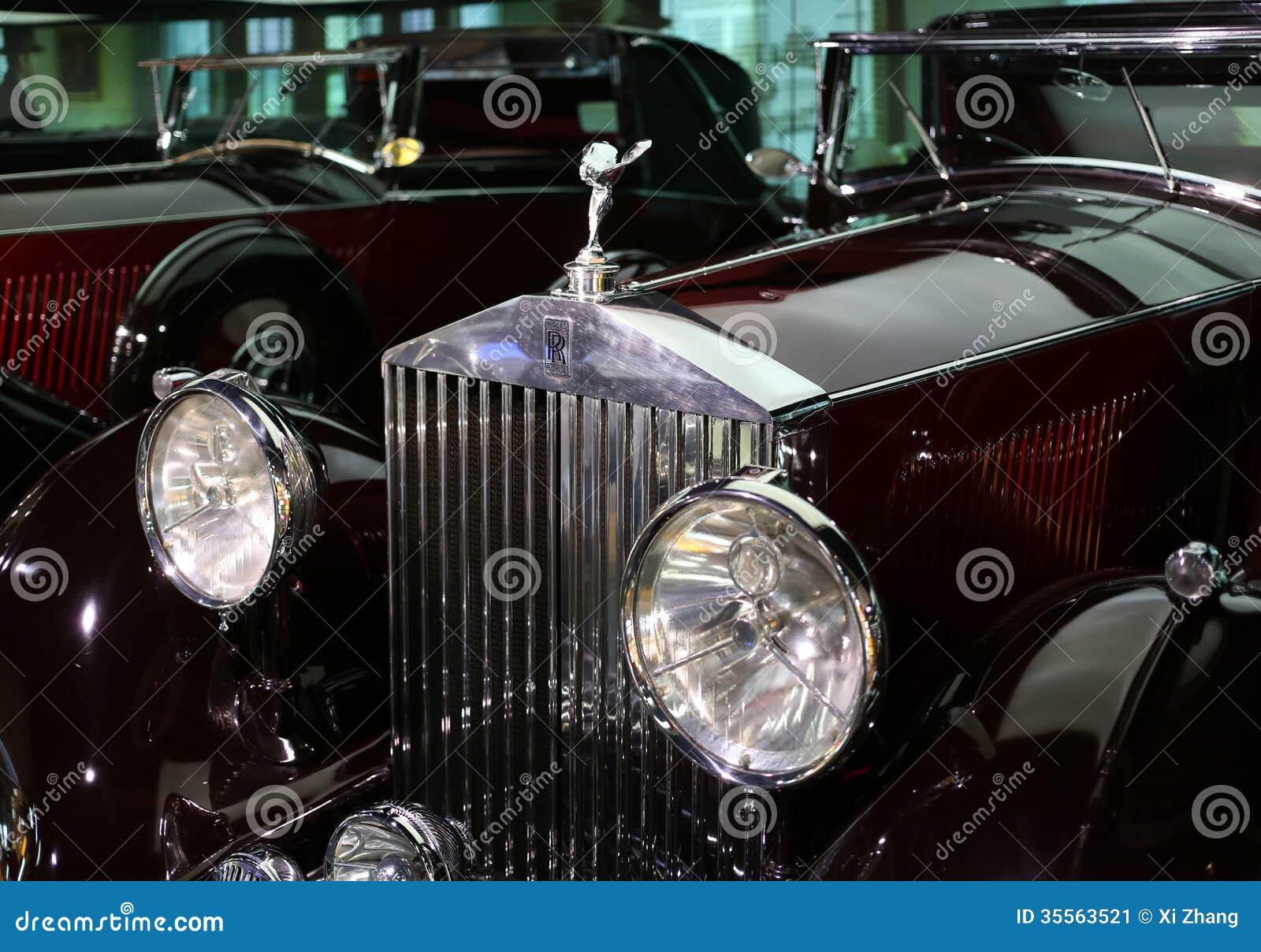 vieille voiture de rolls royce photo ditorial image du sports rel chez 35563521. Black Bedroom Furniture Sets. Home Design Ideas