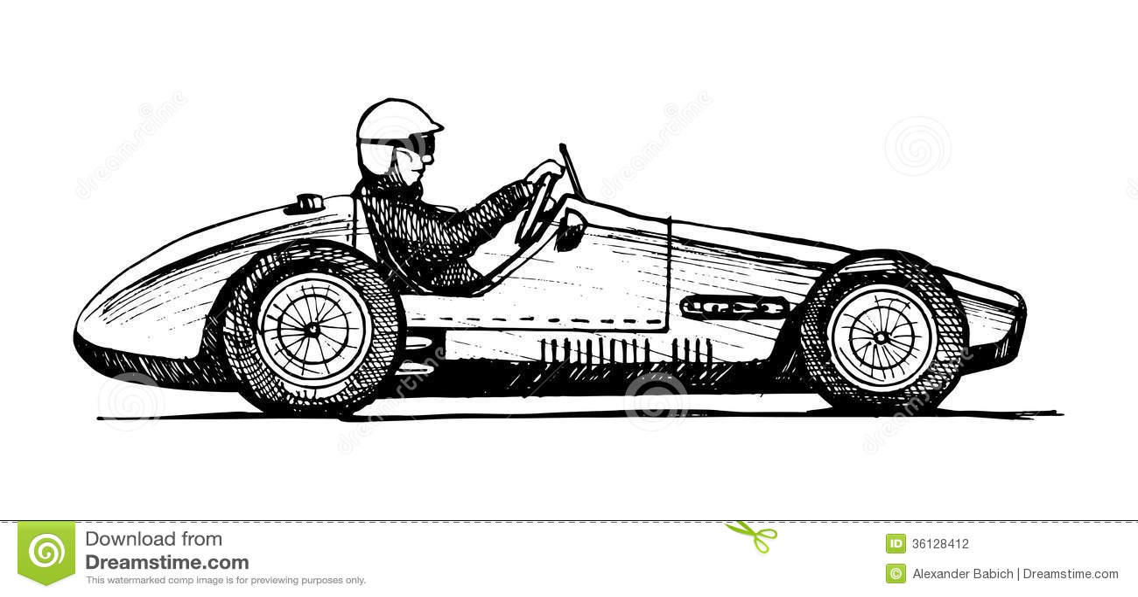 vieille voiture de sport photographie stock image 36128412. Black Bedroom Furniture Sets. Home Design Ideas