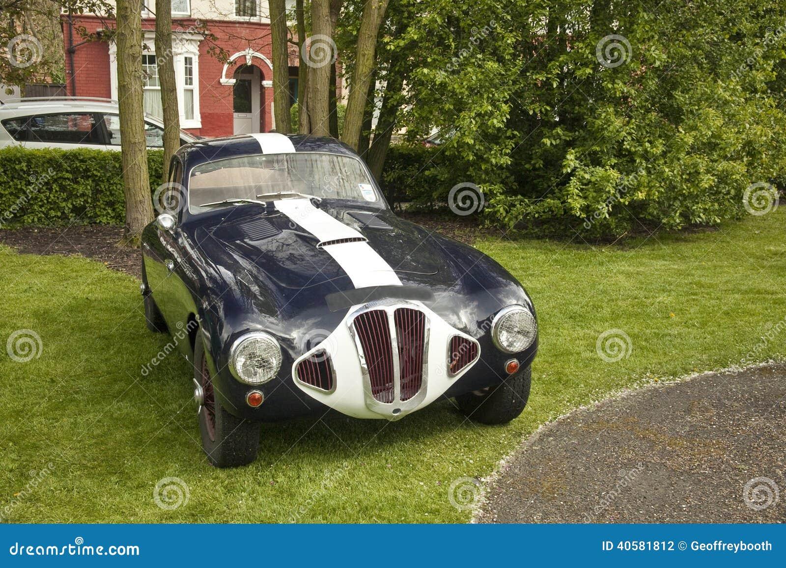 vieille voiture de sport classique de frazer nash photo stock image 40581812. Black Bedroom Furniture Sets. Home Design Ideas