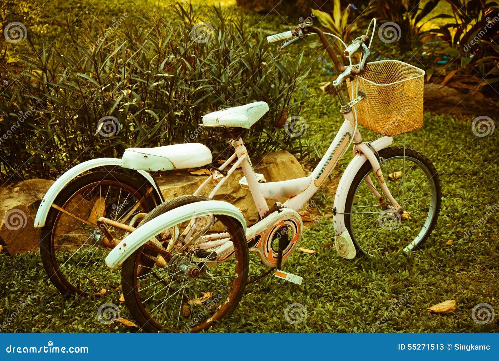 Vieilles bicyclettes