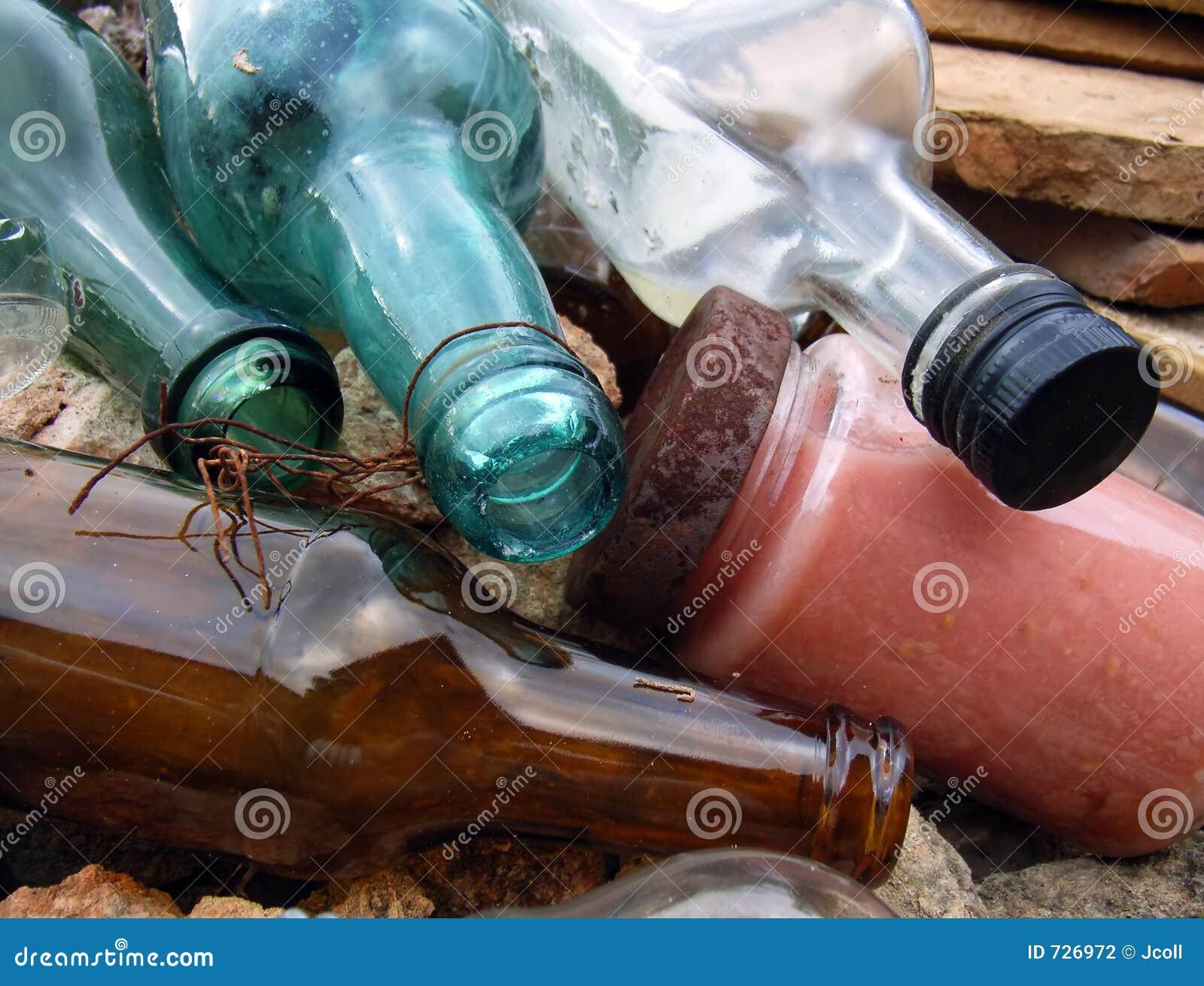 Vieilles bouteilles