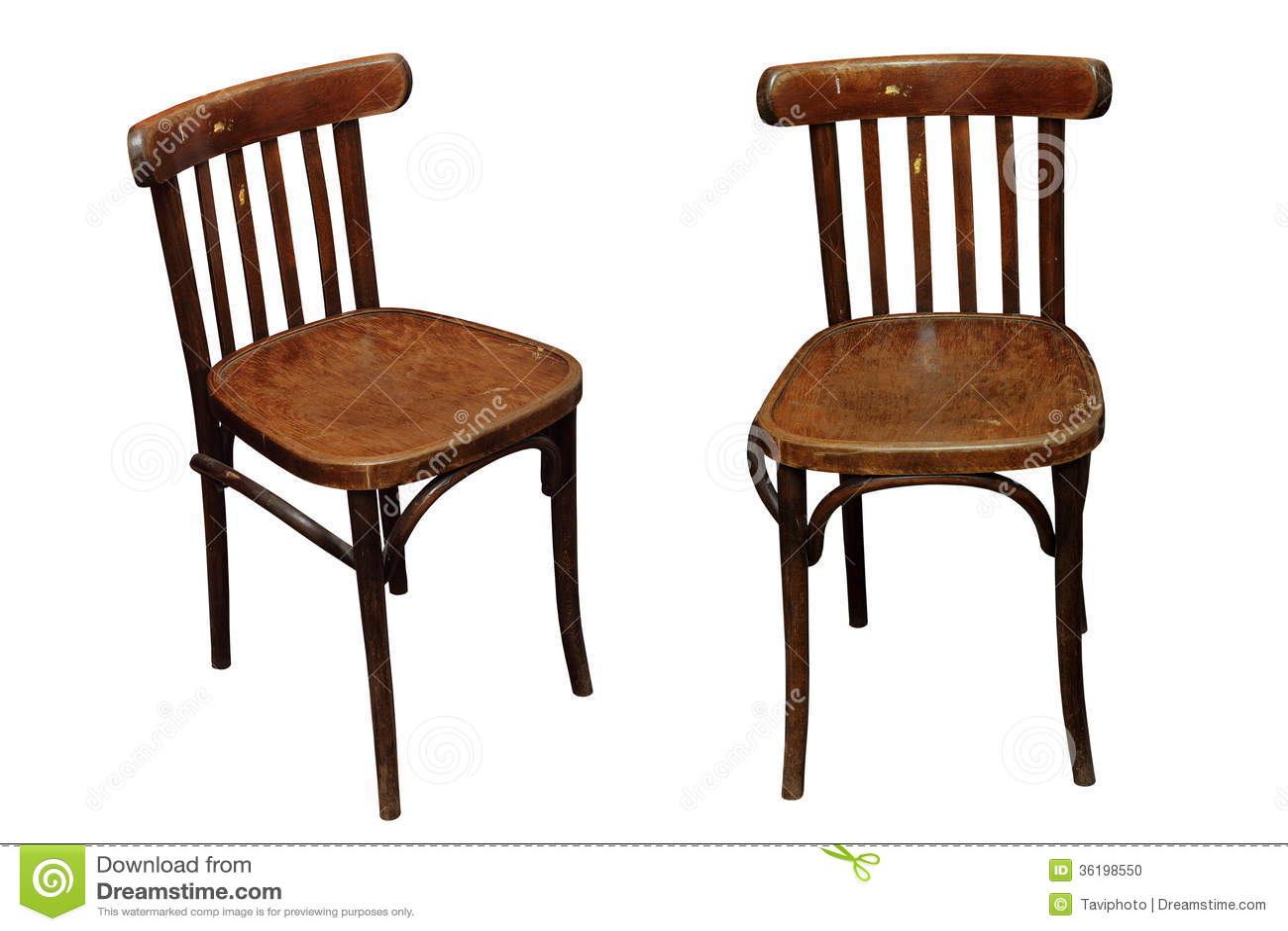 vieilles chaises d 39 isolement photo stock image 36198550. Black Bedroom Furniture Sets. Home Design Ideas