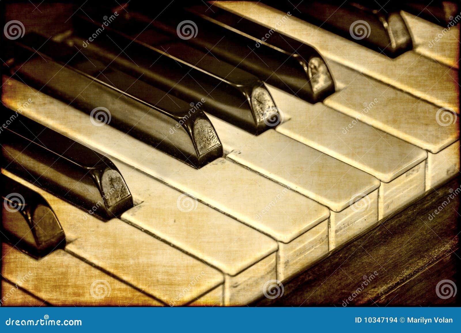 Vieilles clés de piano