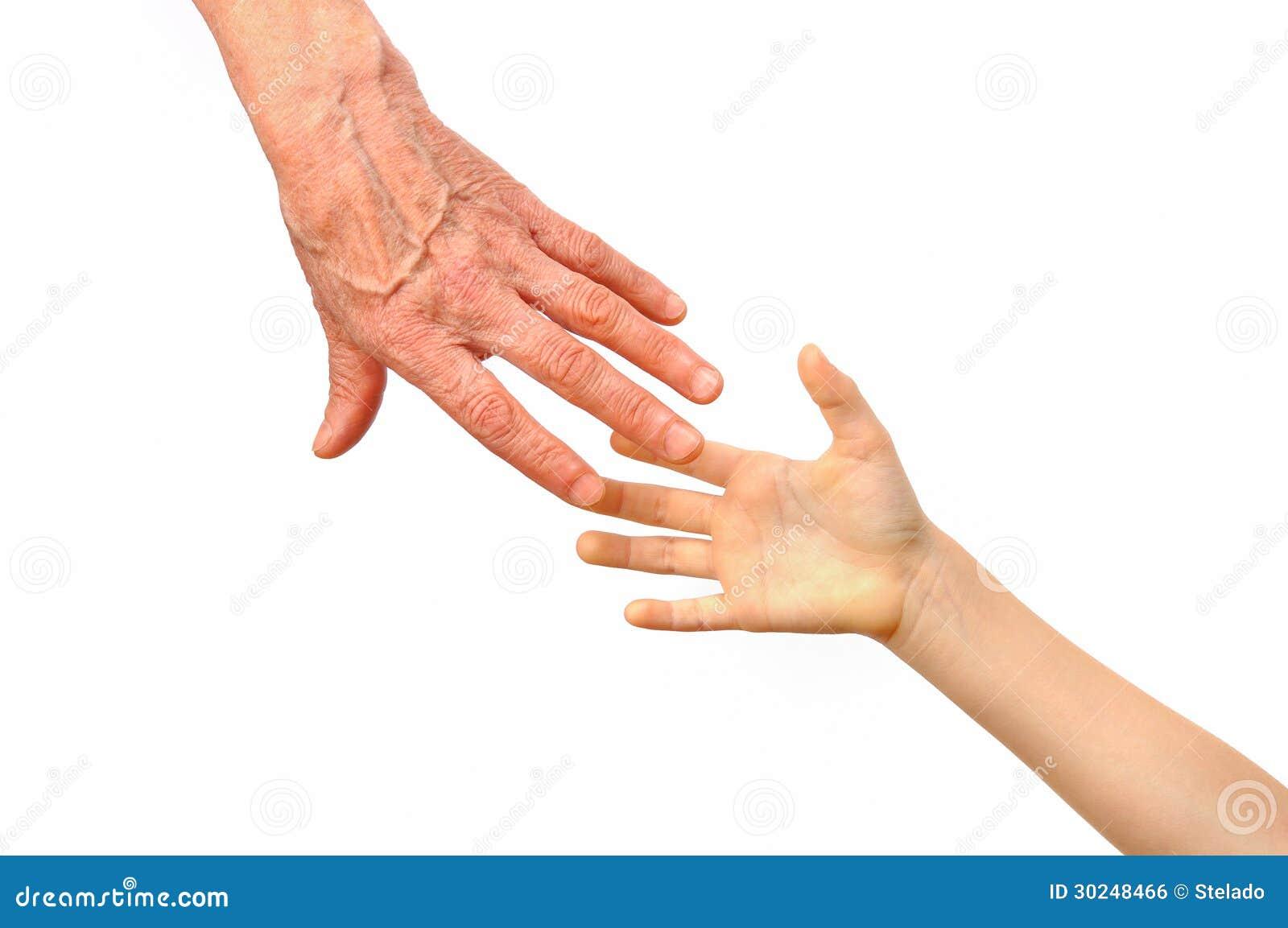 g n ration les mains de la grand m re et de sa petite fille photo stock image du fille main. Black Bedroom Furniture Sets. Home Design Ideas