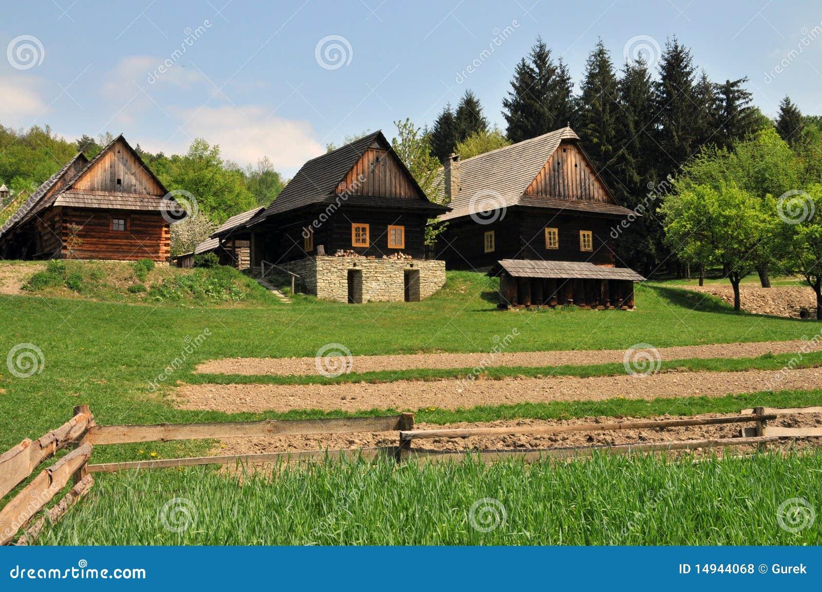 Vieilles maisons de village