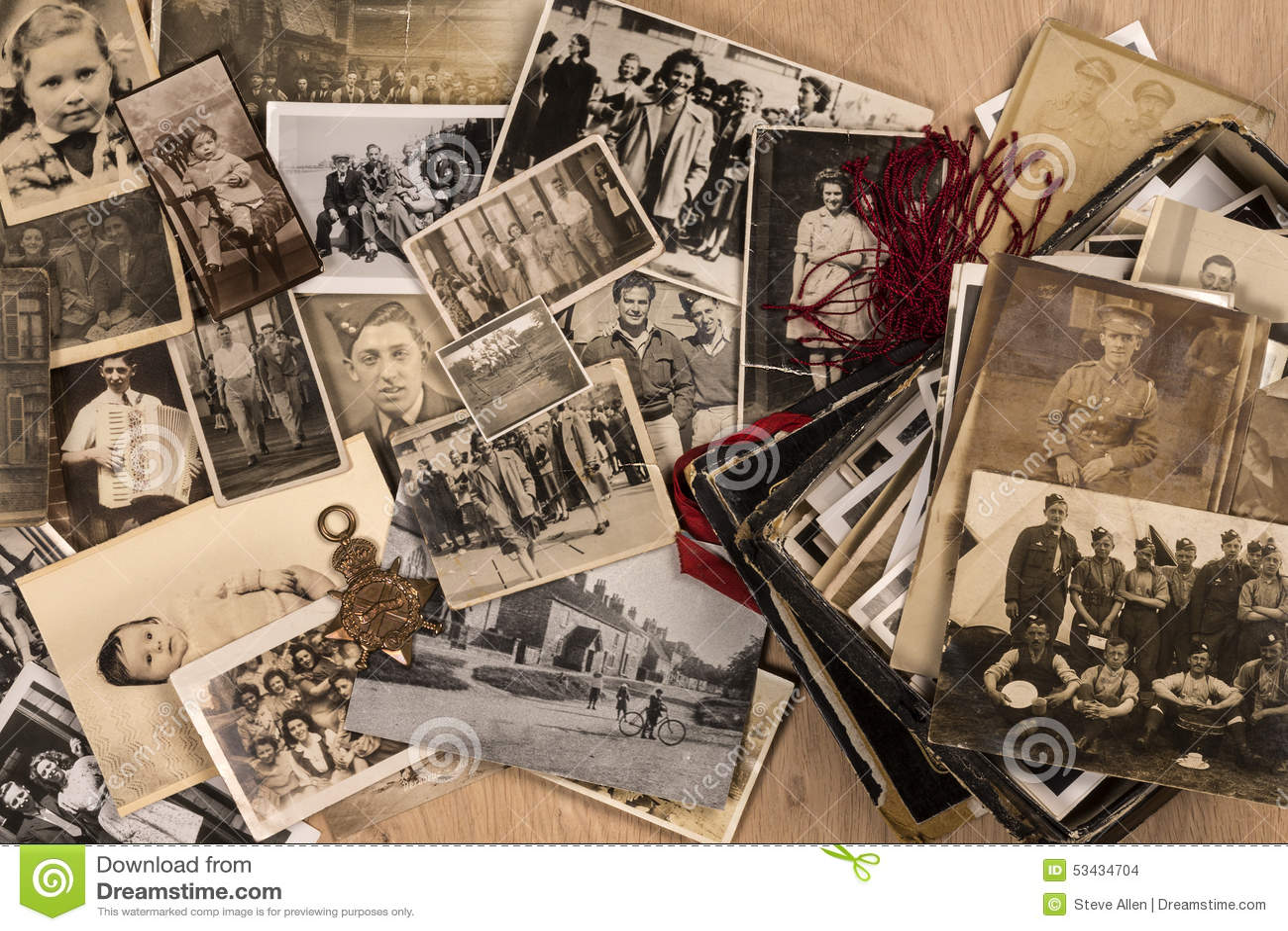 Vieilles photographies de famille