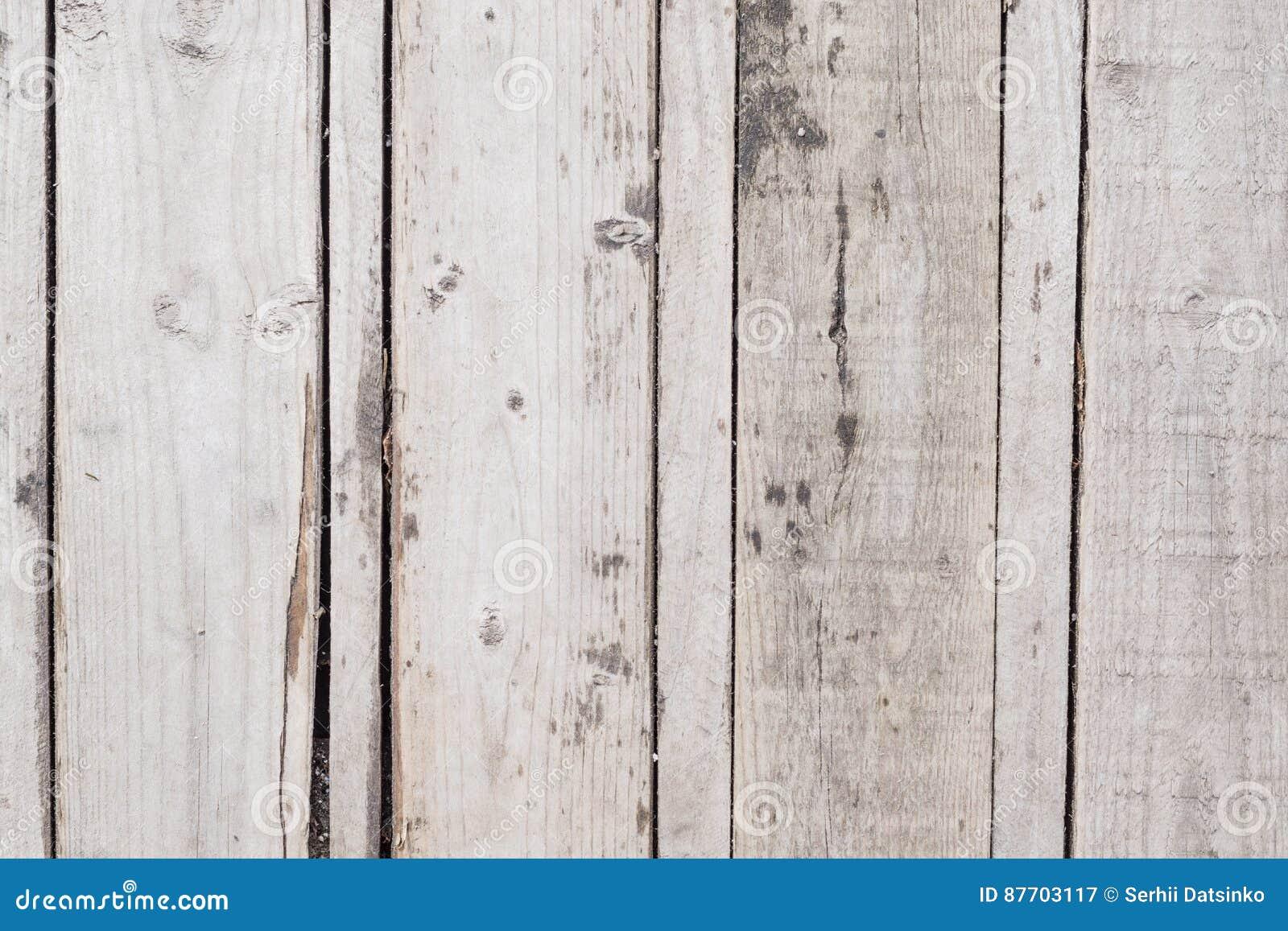 Vieilles planches en bois grises verticales de fond Fermez-vous vers le haut de la vieille texture en bois