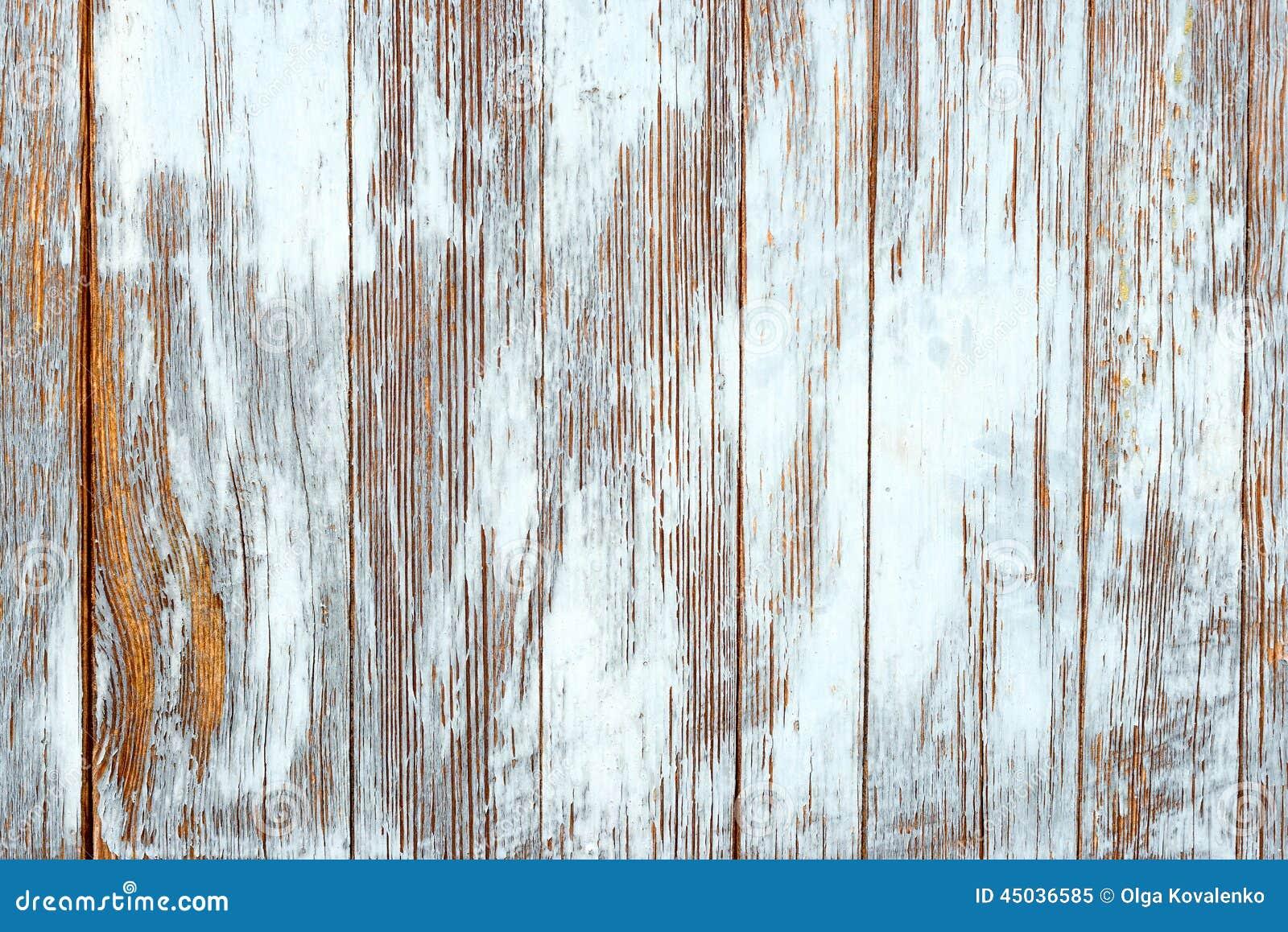 Vieilles planches en bois minables avec la peinture - Planche de couleur ...