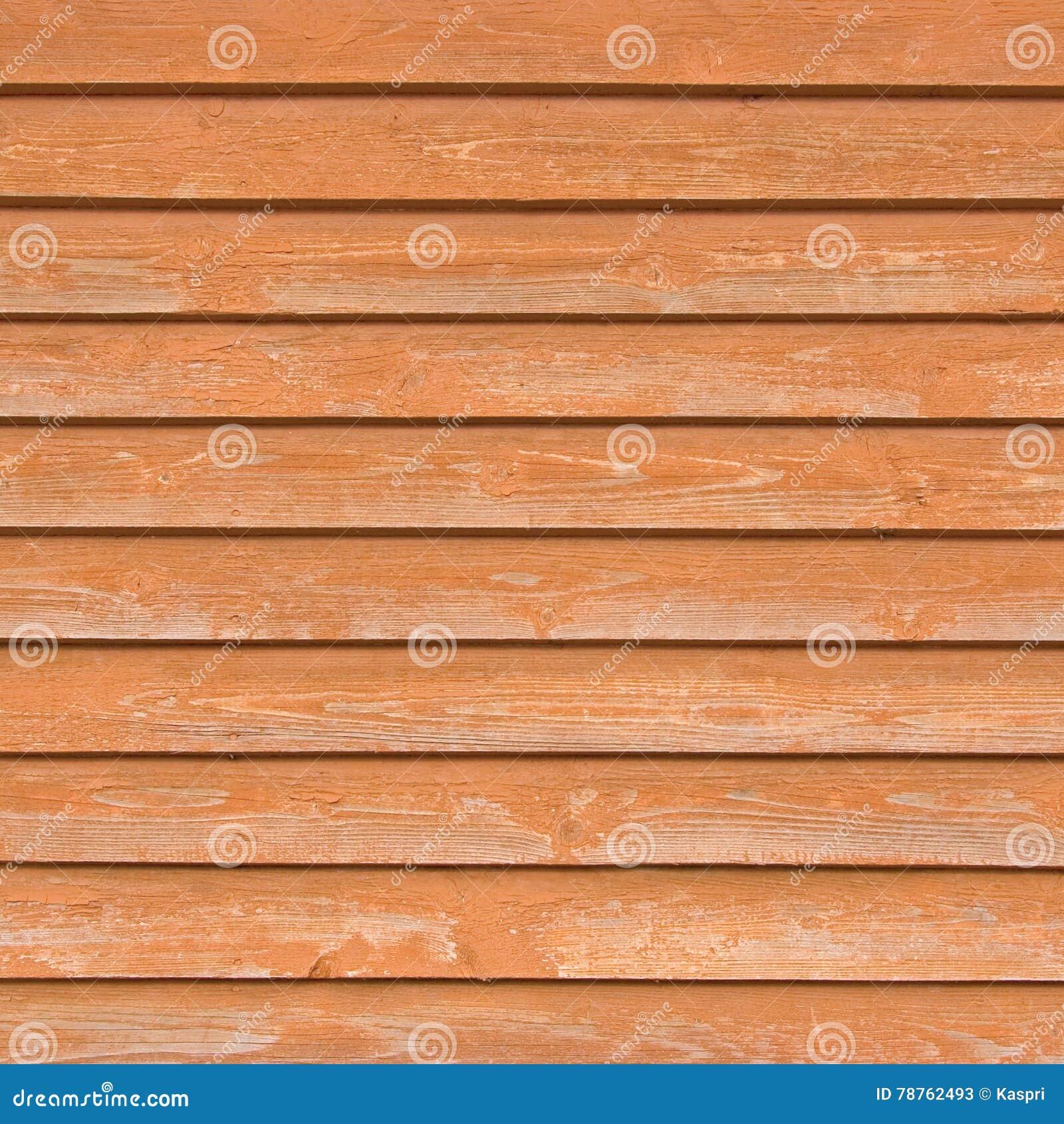 Vieilles planches en bois naturelles de barrière, texture étroite en bois de conseil, fond brun-rougeâtre clair de recouvrement d