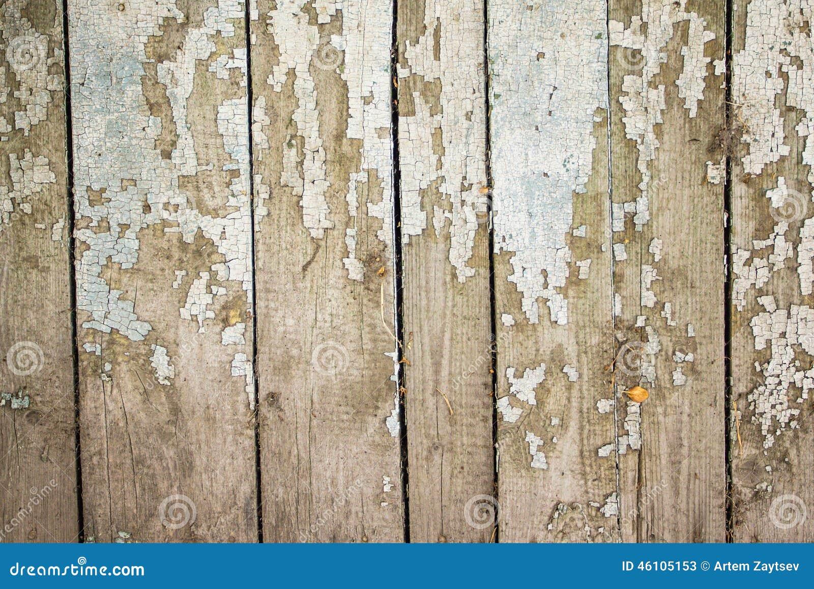 Vieilles planches en bois peintes de fond photo stock for Vieille planche de bois