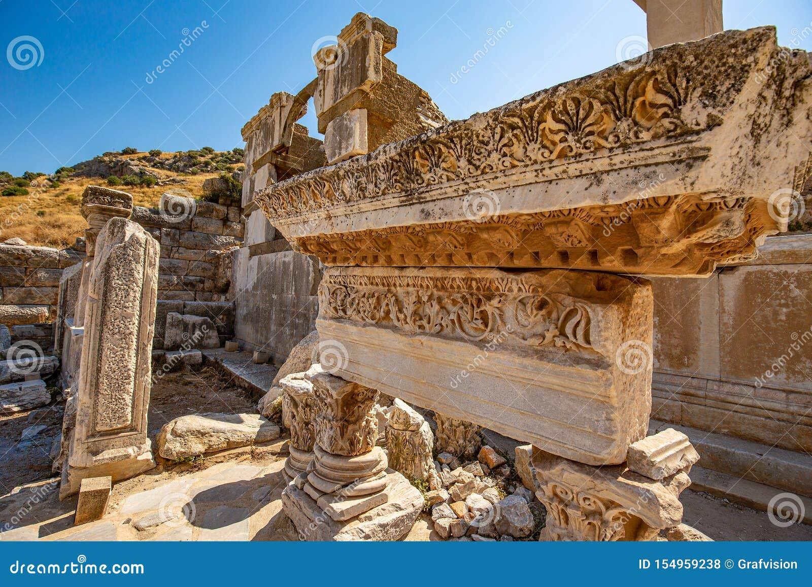 Vieilles ruines d Ephesus