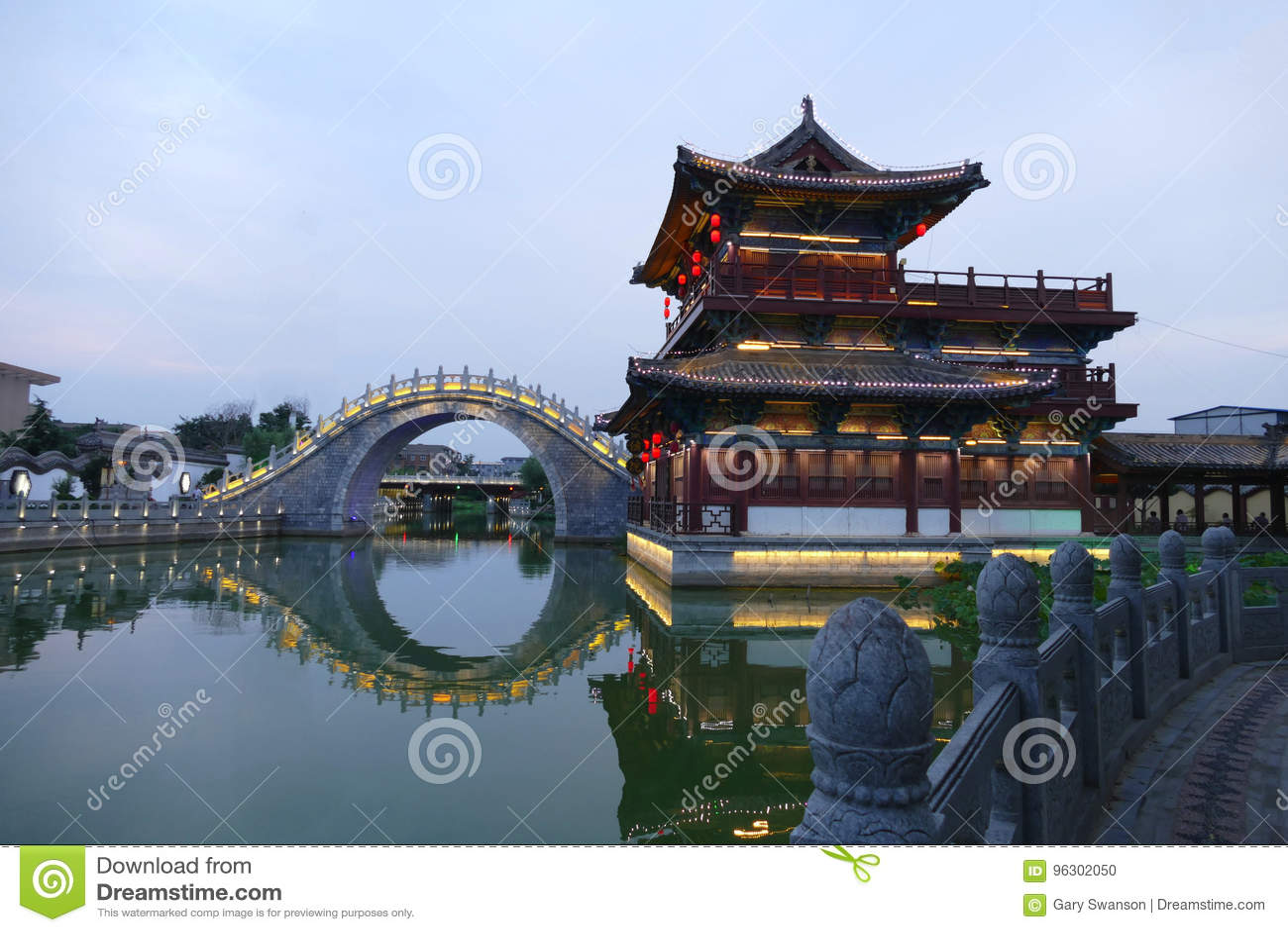 Vieja arquitectura de China