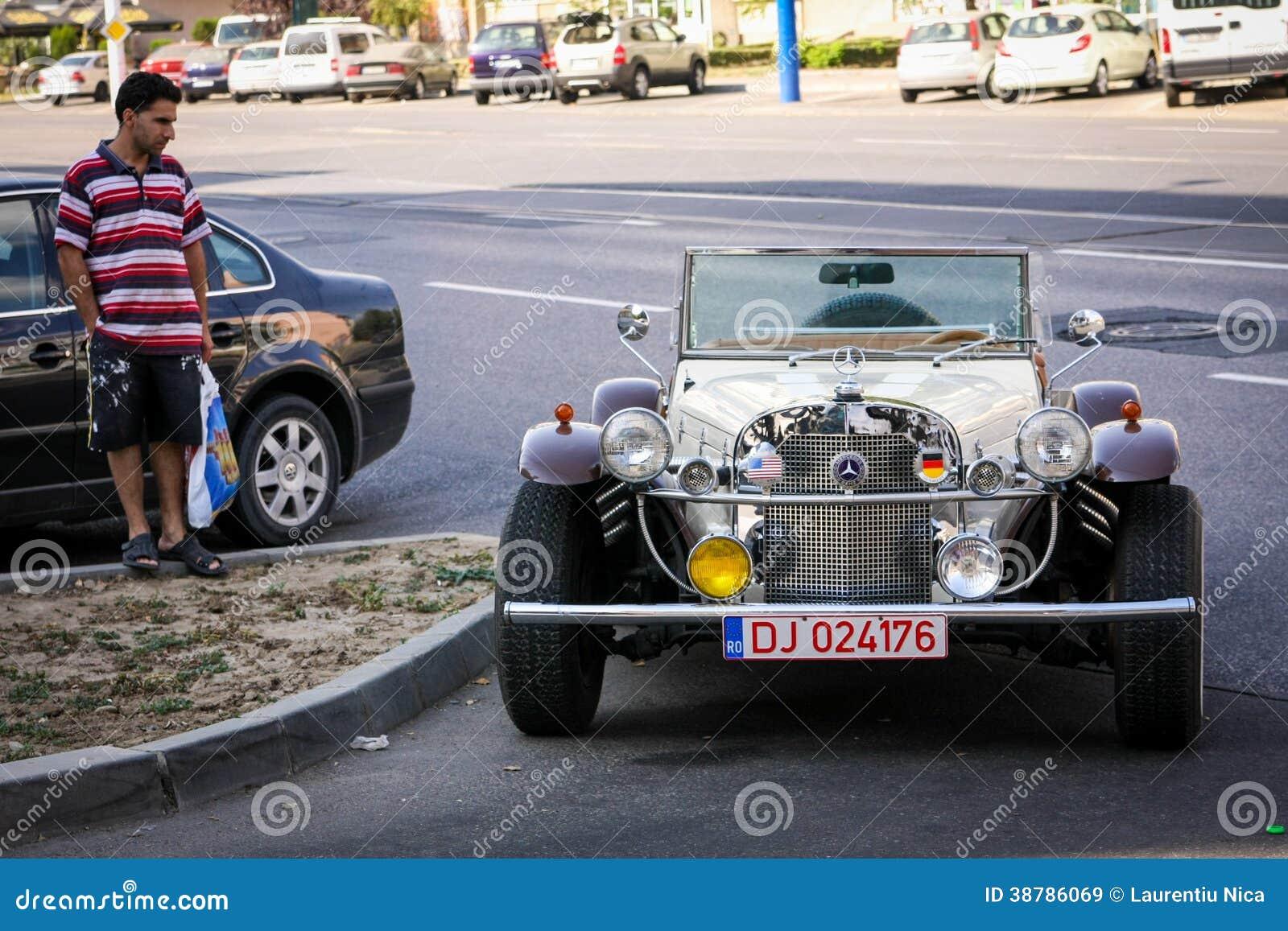 Vieja Mercedes Benz