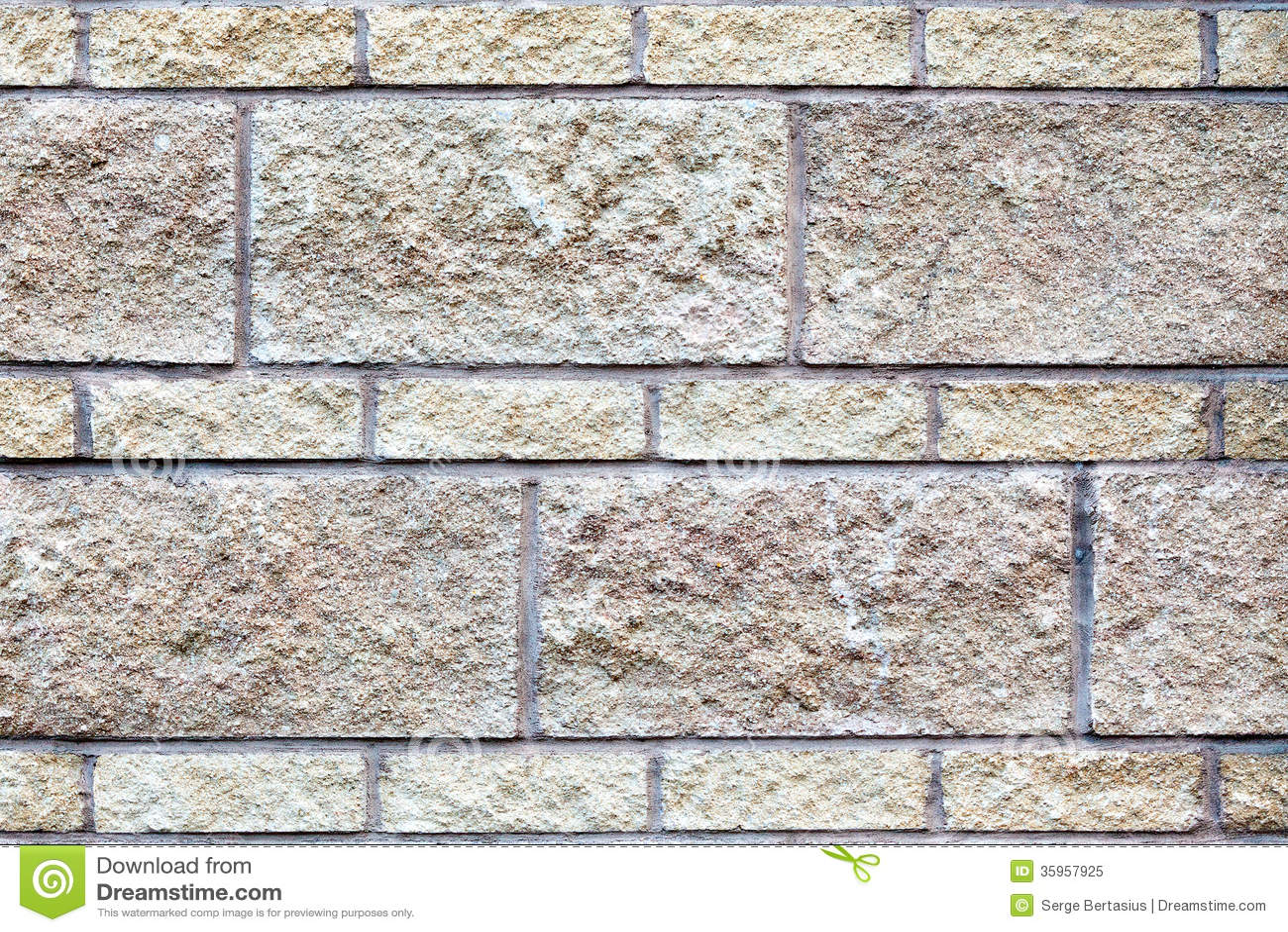 Vieja textura de la pared de ladrillo