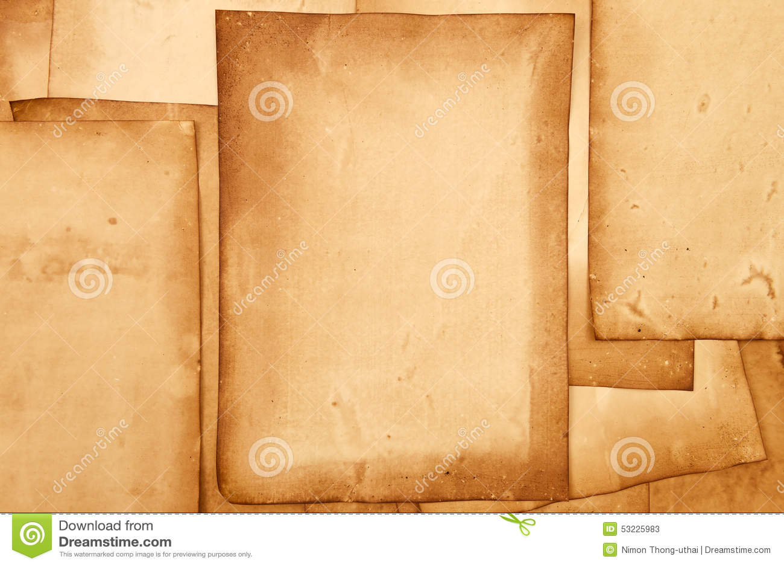 Vieja textura de los papeles