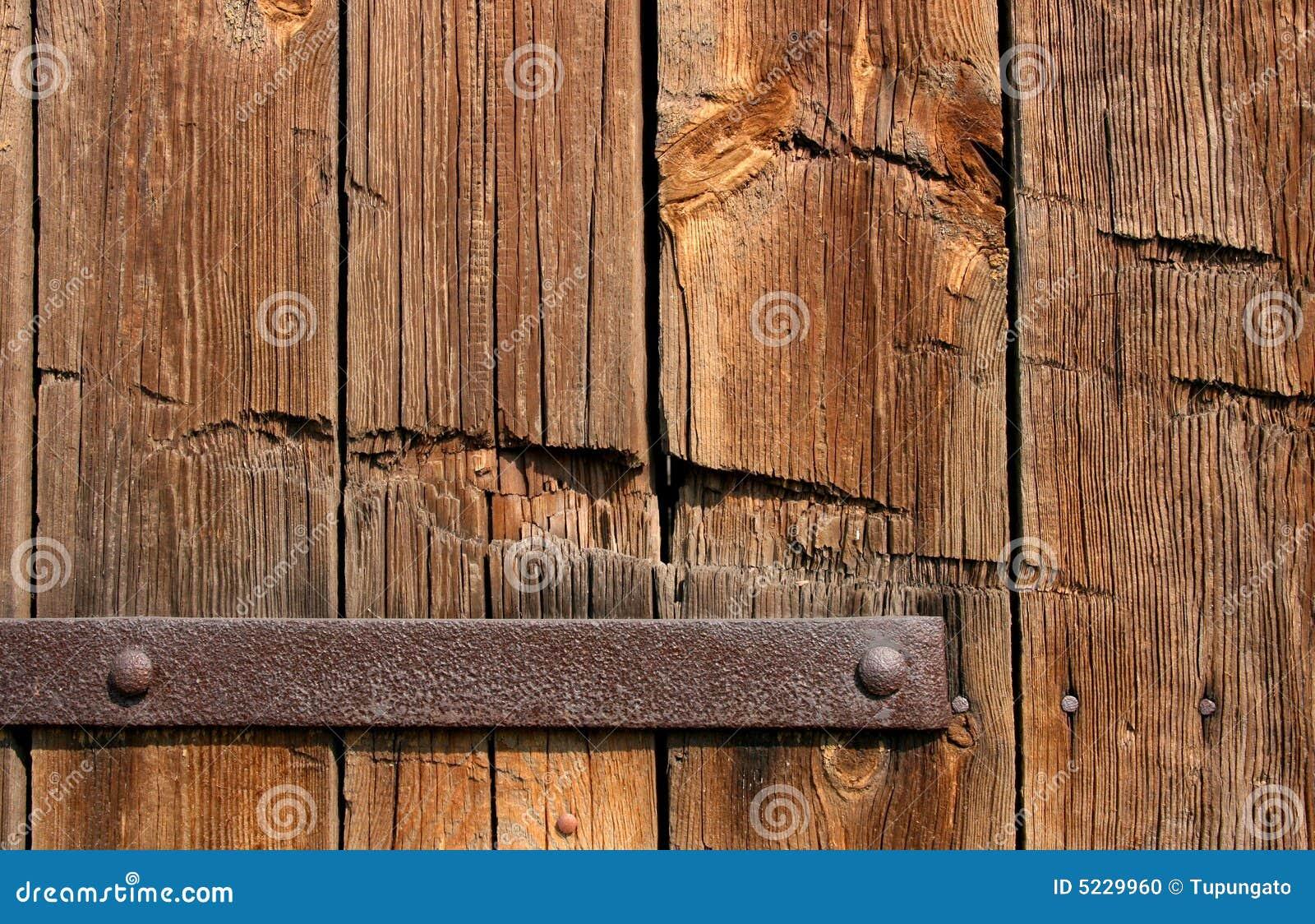 Vieja textura de madera de la puerta foto de archivo - Puertas viejas de madera ...