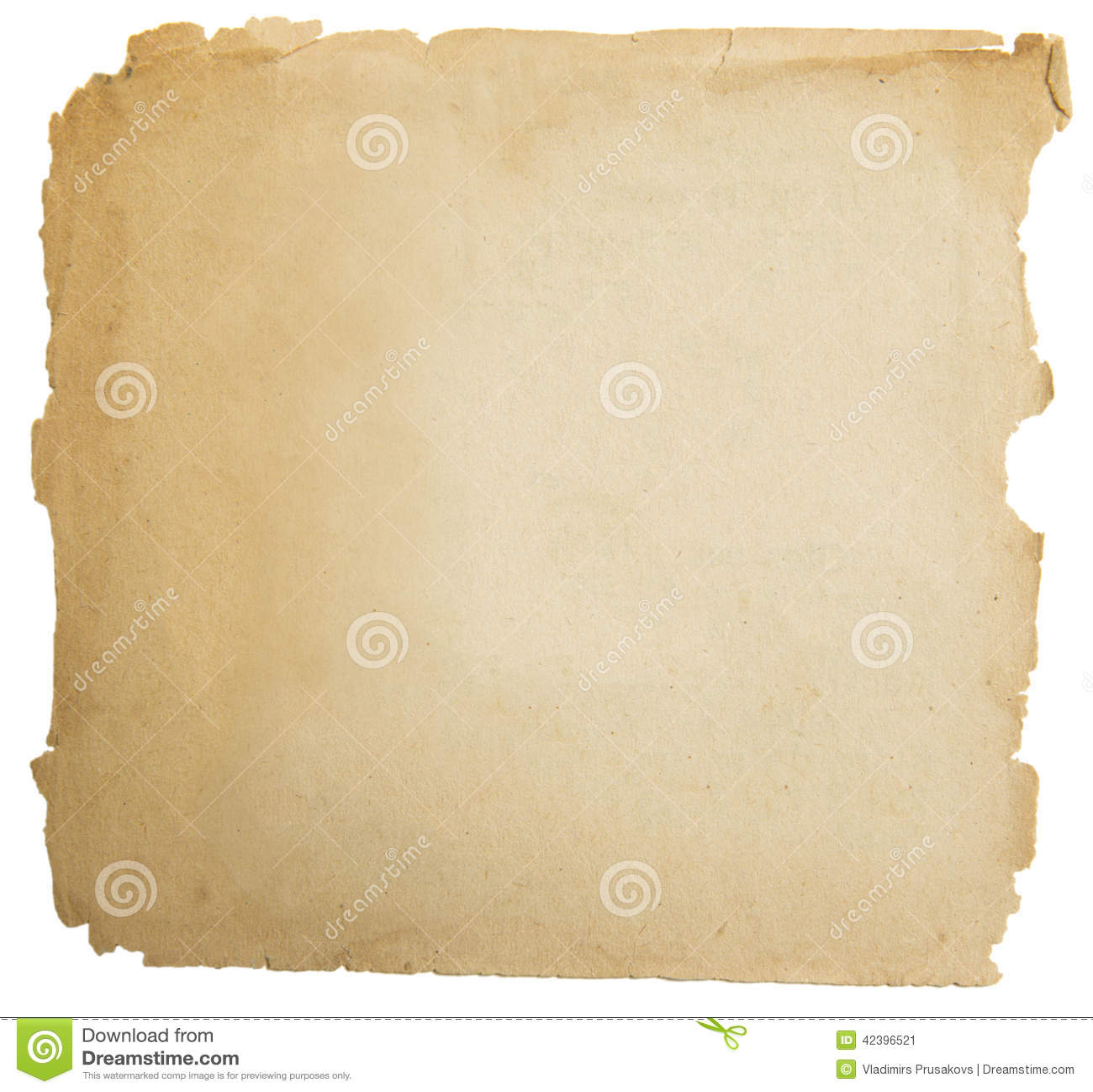 Vieja textura de papel del grunge, Yellow Pages vacío aislado en blanco