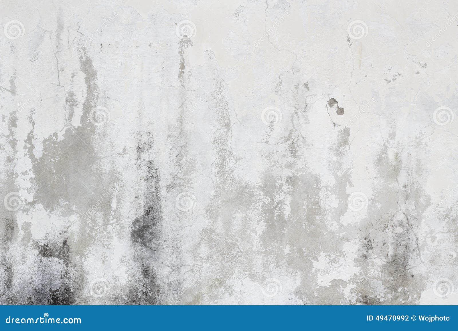 Vieja Textura Sucia Blanca De La Pared Foto De Archivo Imagen De