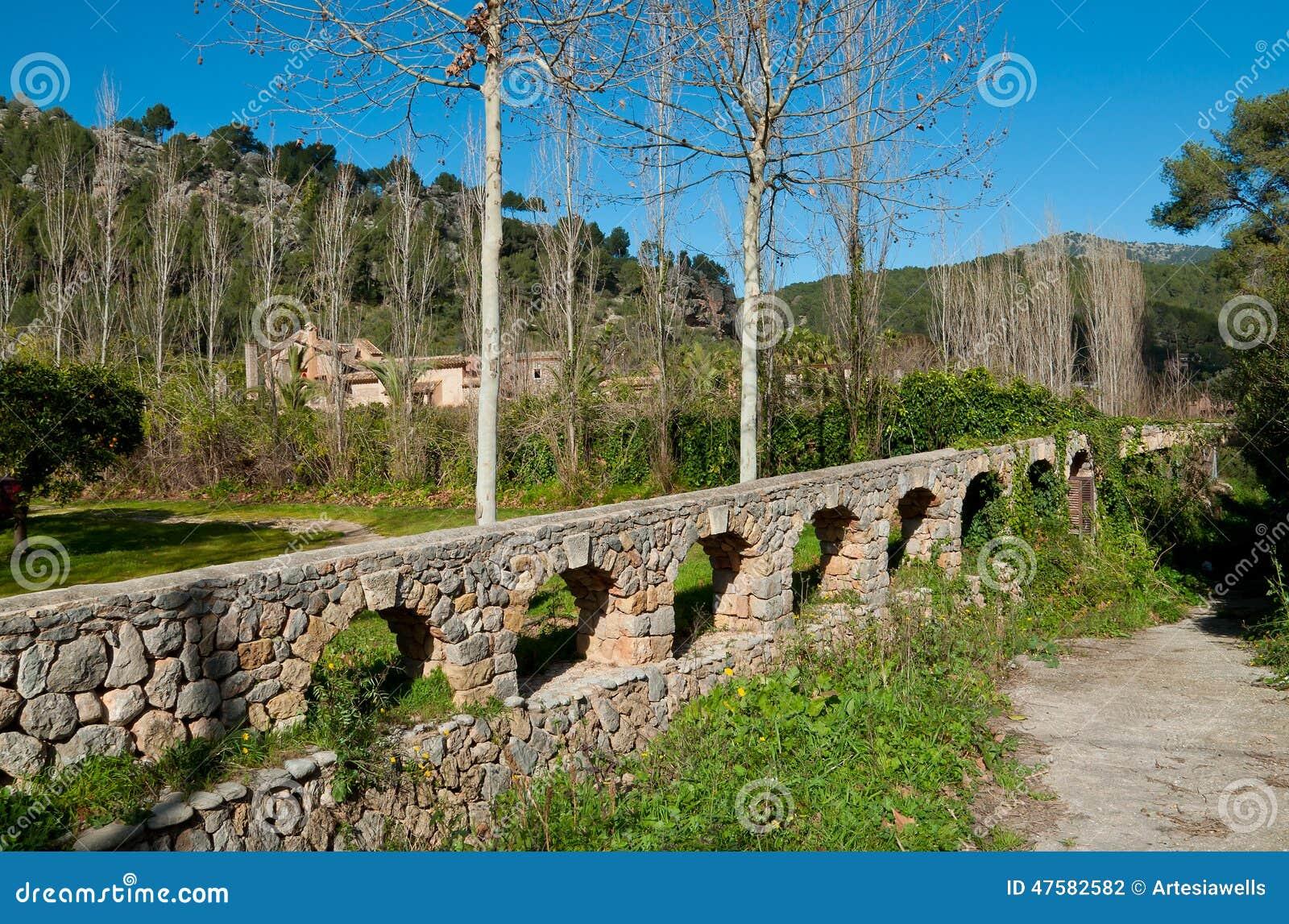 Viejo canal de agua