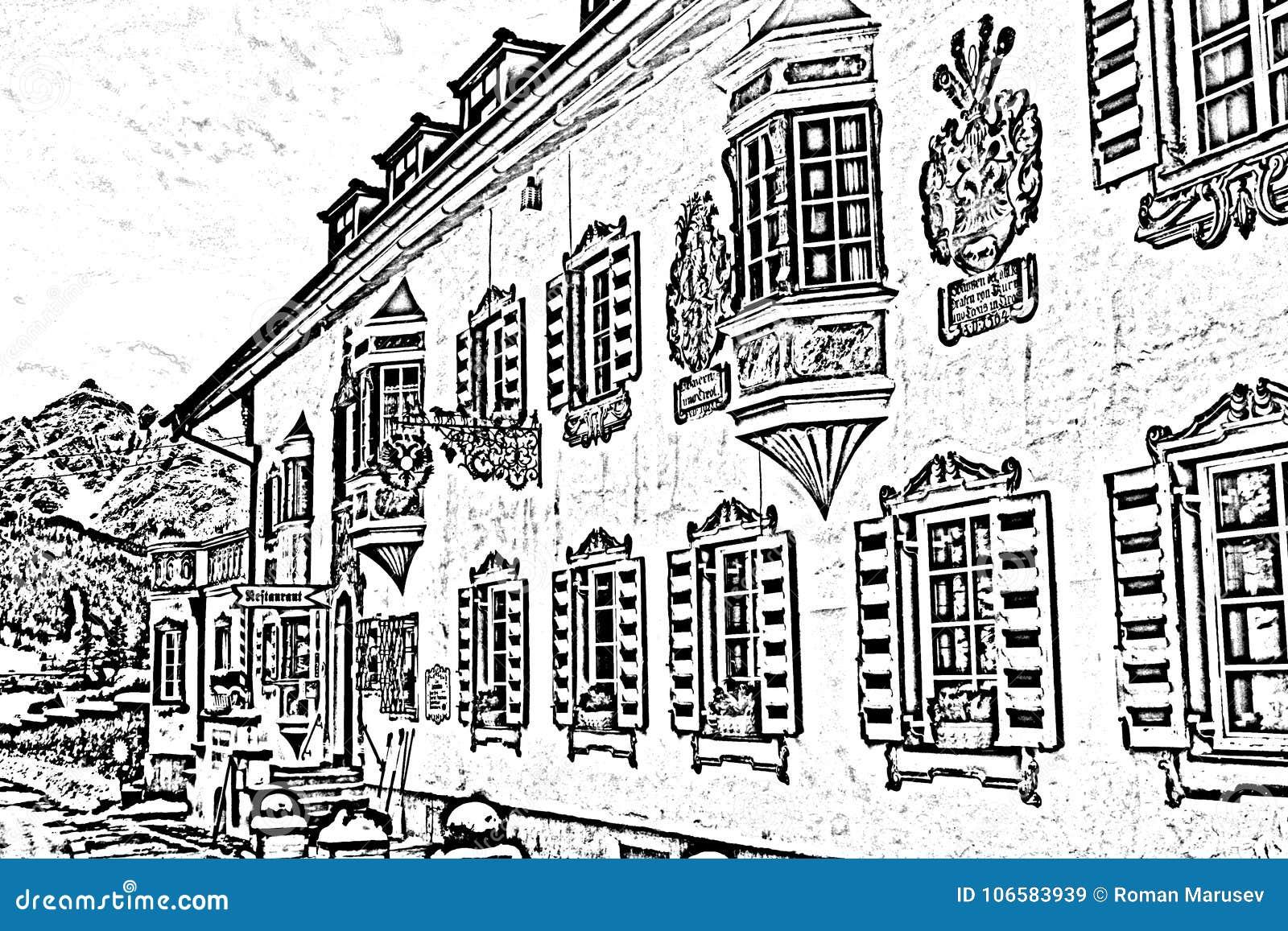 Viejo europen la casa