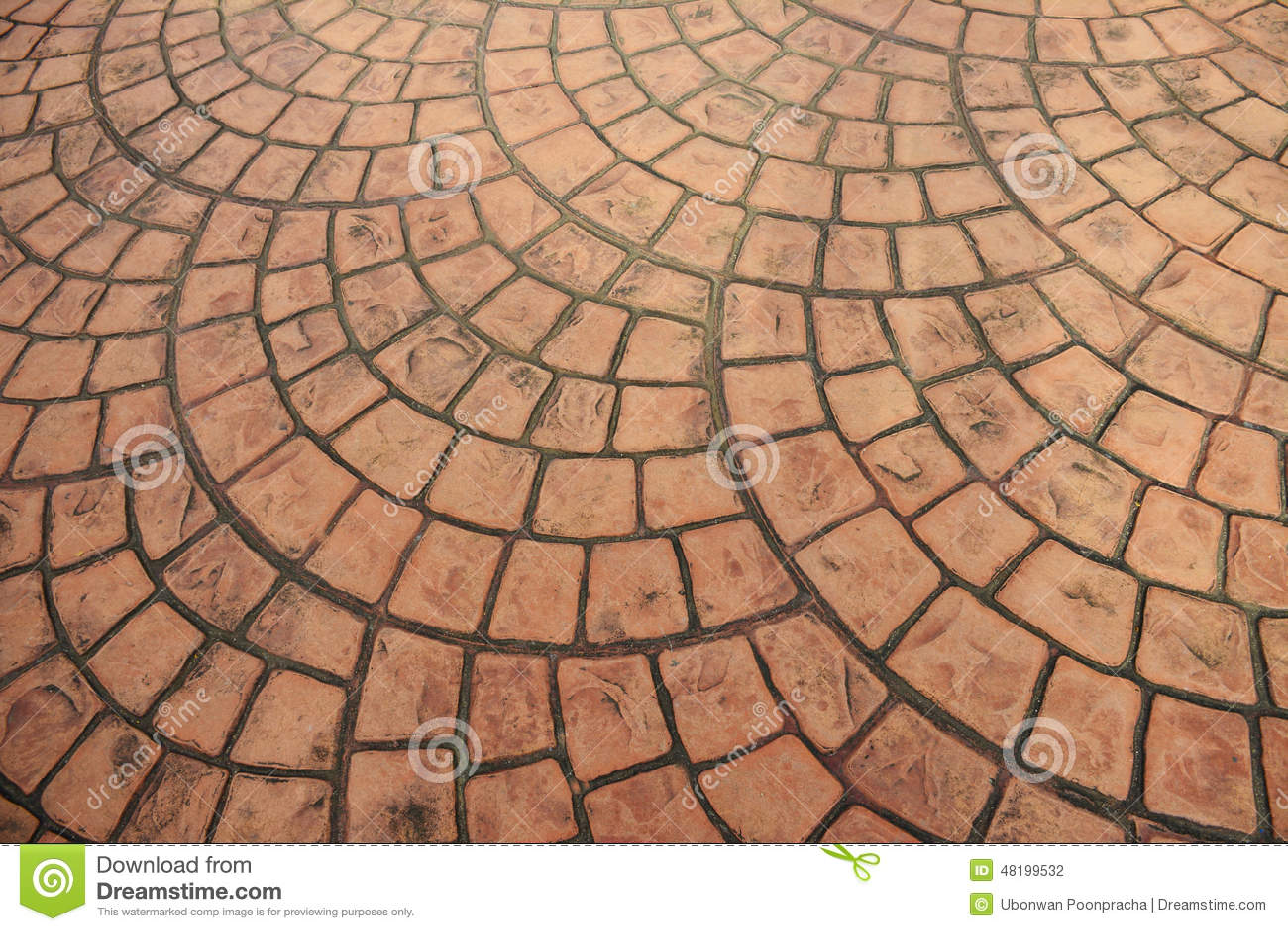 Viejo fondo anaranjado del piso del ladrillo foto de - Patio piso de ladrillo ...