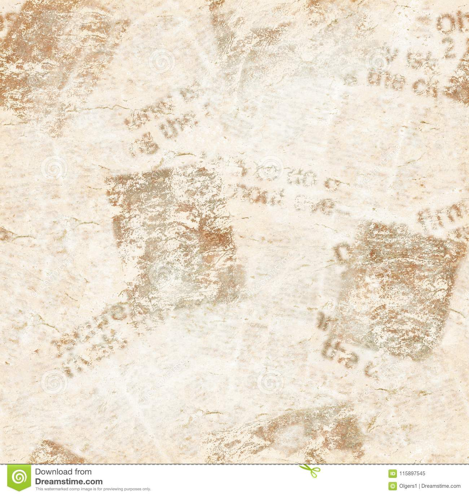 Viejo Fondo De La Textura Del Collage Del Periódico Del Grunge