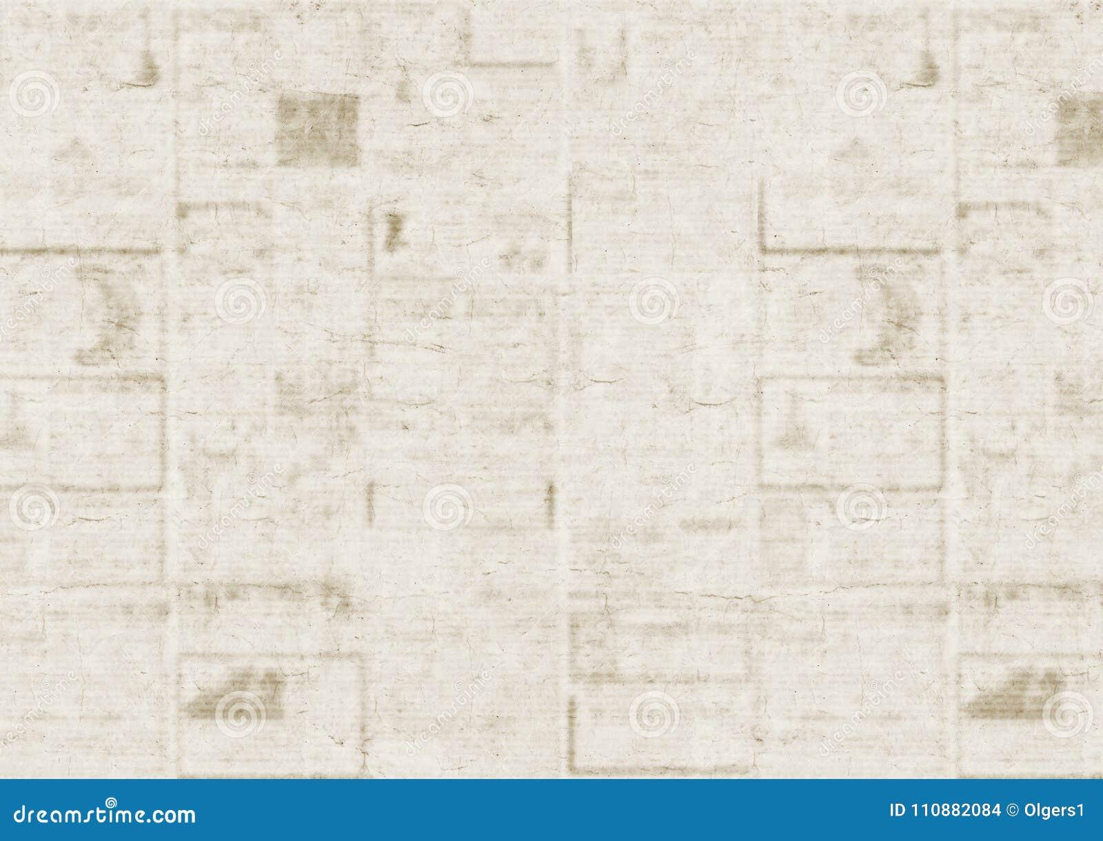 Viejo Fondo De La Textura Del Periódico Foto De Archivo