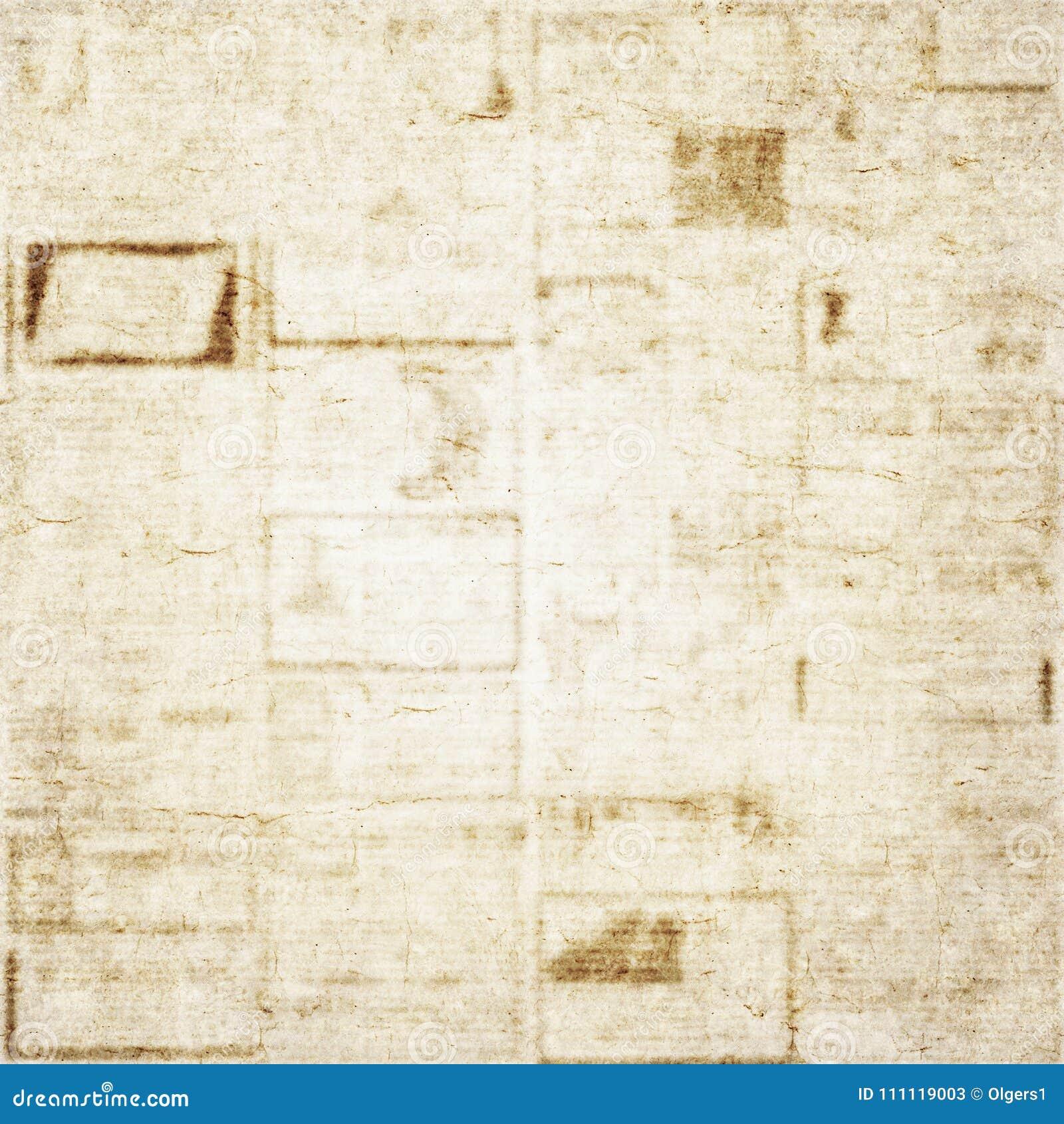 Viejo Fondo De La Textura Del Periódico Imagen De Archivo Imagen