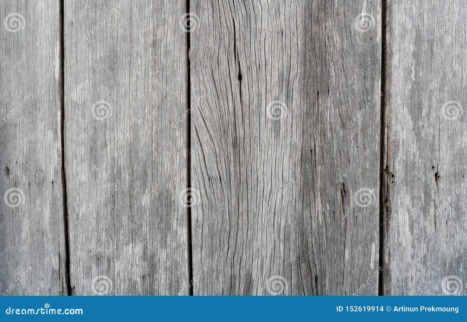Viejo fondo de madera gris de la textura Fondo de madera del extracto del tablón Pared de madera resistida vacía Superficie de la