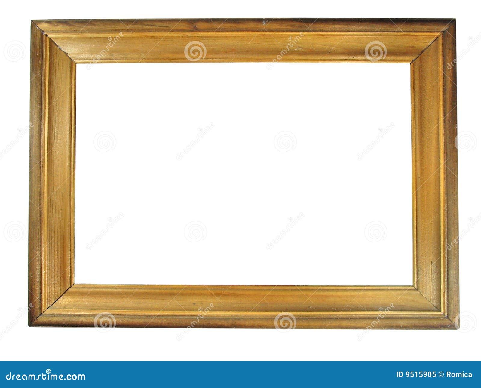 Viejo marco de madera antiguo stock de ilustraci n ilustraci n de arte ornamental 9515905 - Marcos de madera ...