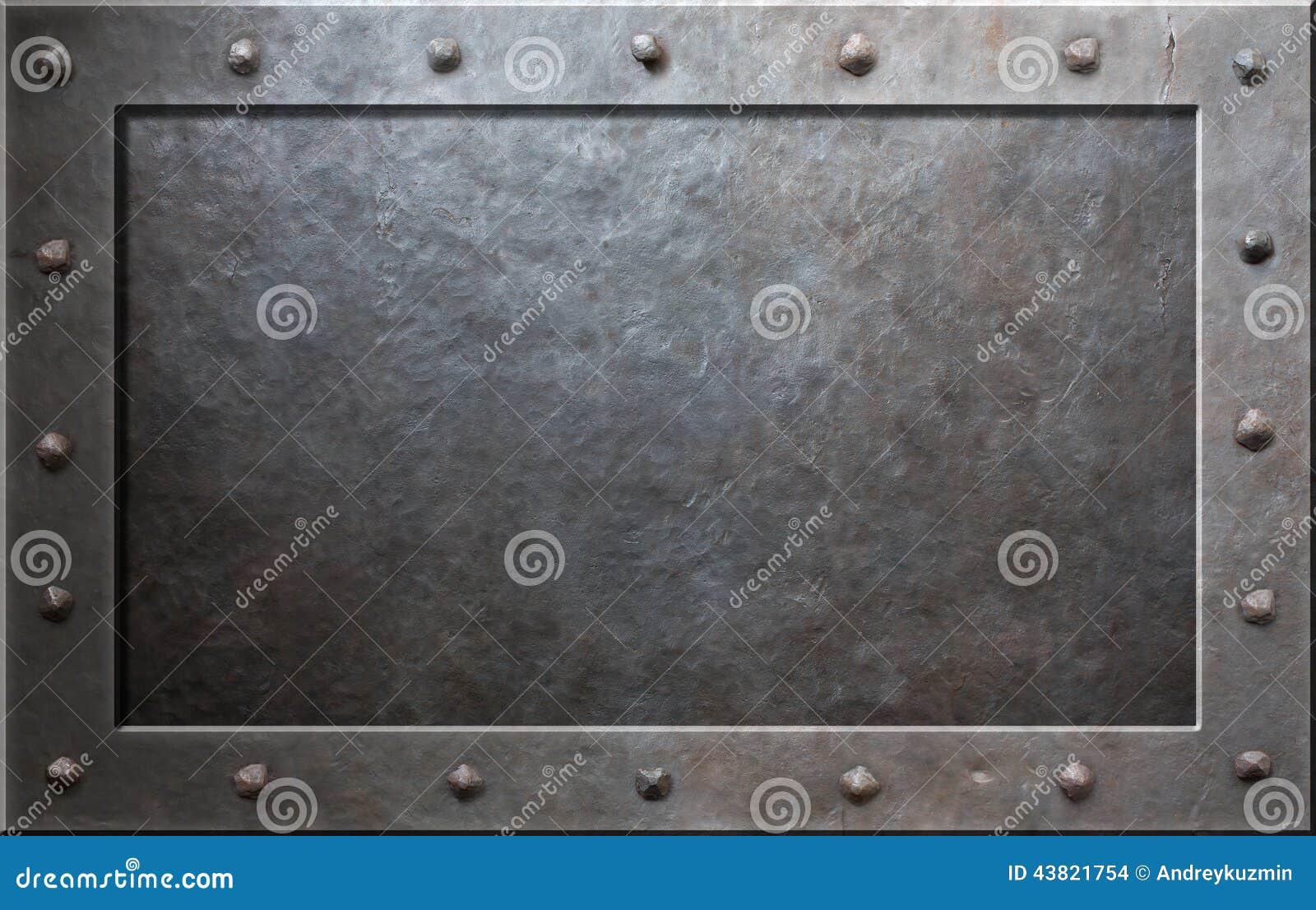 Viejo marco del metal foto de archivo. Imagen de acero - 43821754